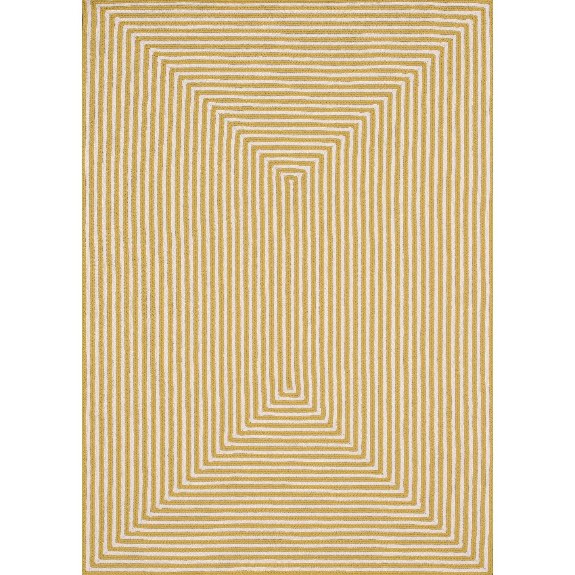 Birch Lane Marcelina Yellow Indoor Outdoor Rug & Reviews