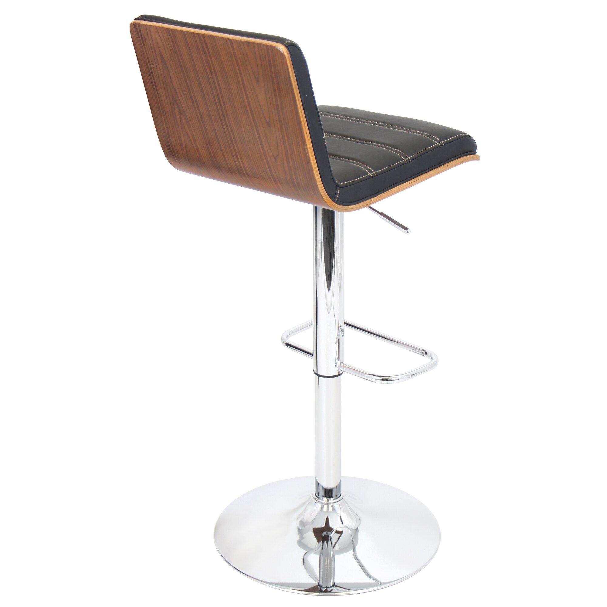 Vasari Adjustable Height Swivel Bar Stool Amp Reviews