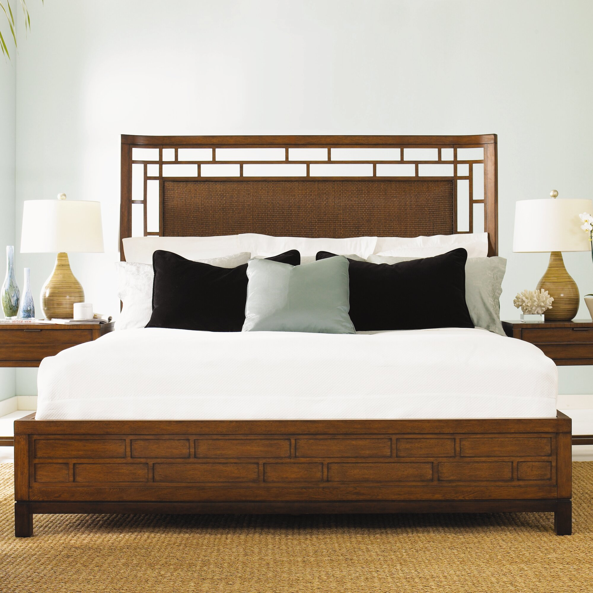 Tommy Bahama Home Ocean Club Panel Customizable Bedroom Set Reviews Wayfair