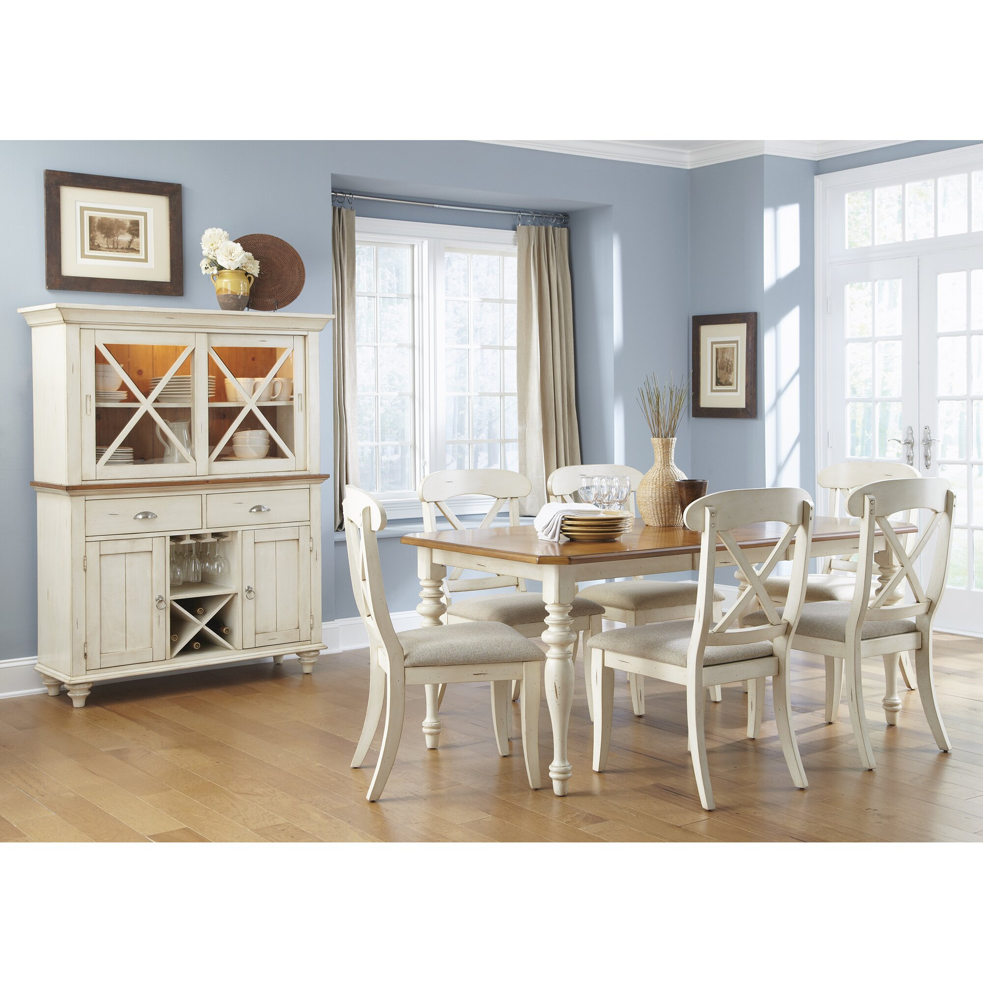 Bay Isle Home Duval Extendable Dining Table & Reviews | Wayfair