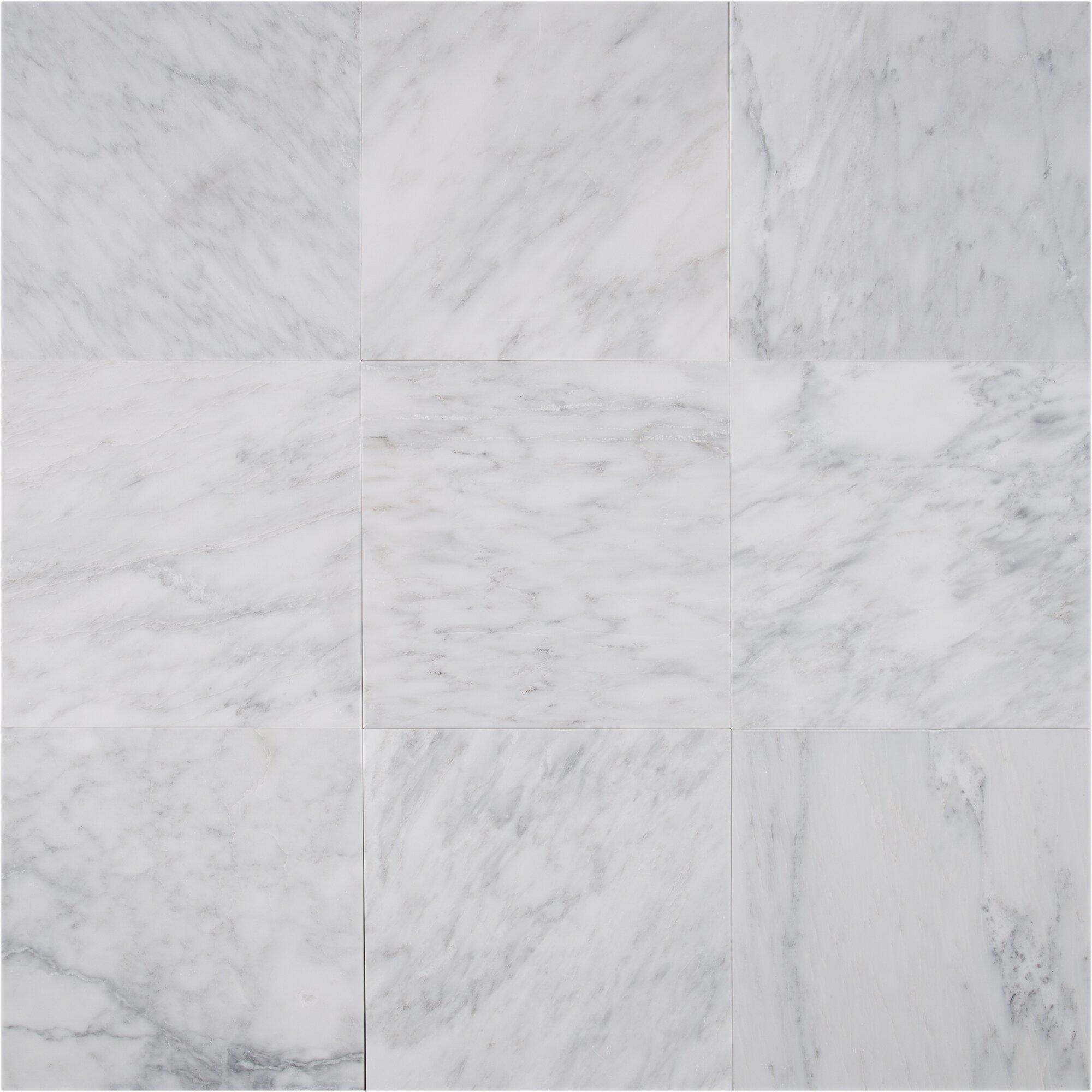 Arabescato Carrara Marble : Msi  marble field tile in arabescato carrara