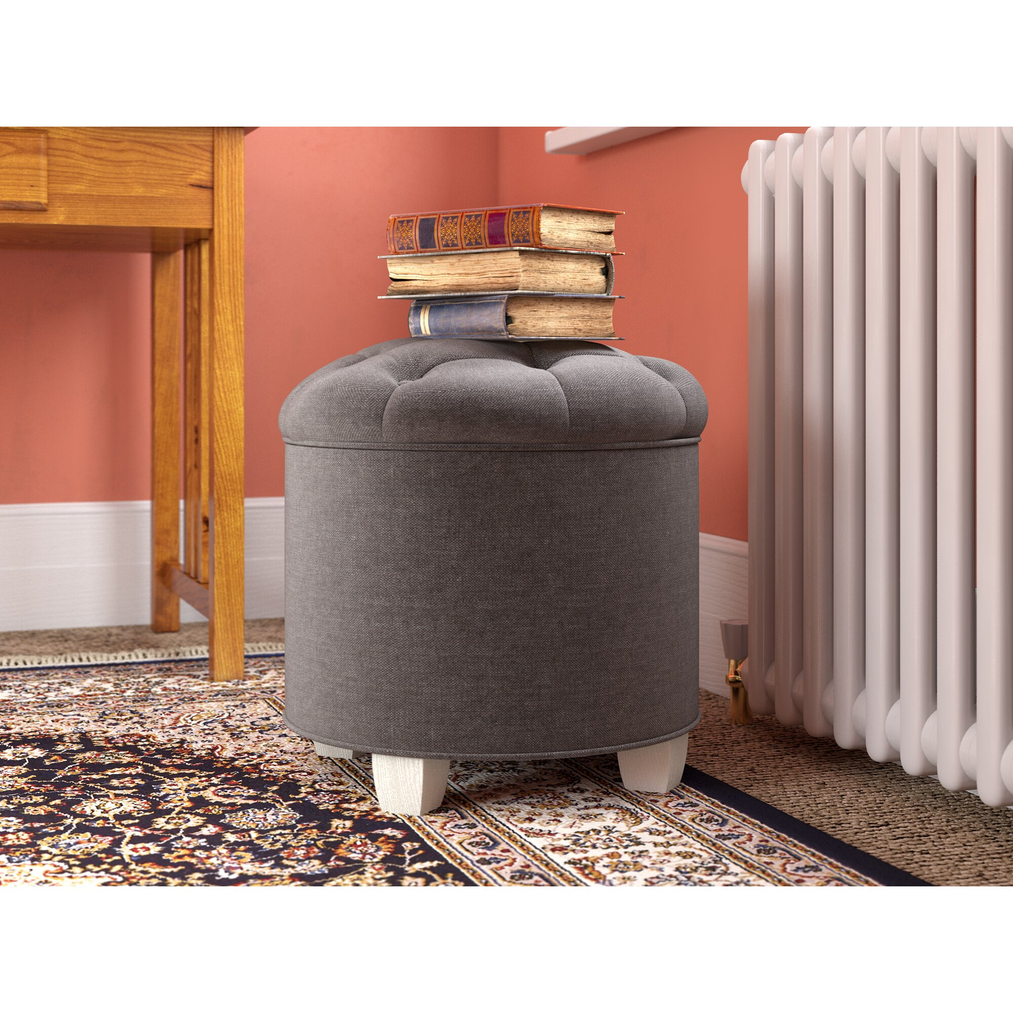 Three Posts Forest Hill Cocktail Ottoman Wayfair Co Uk