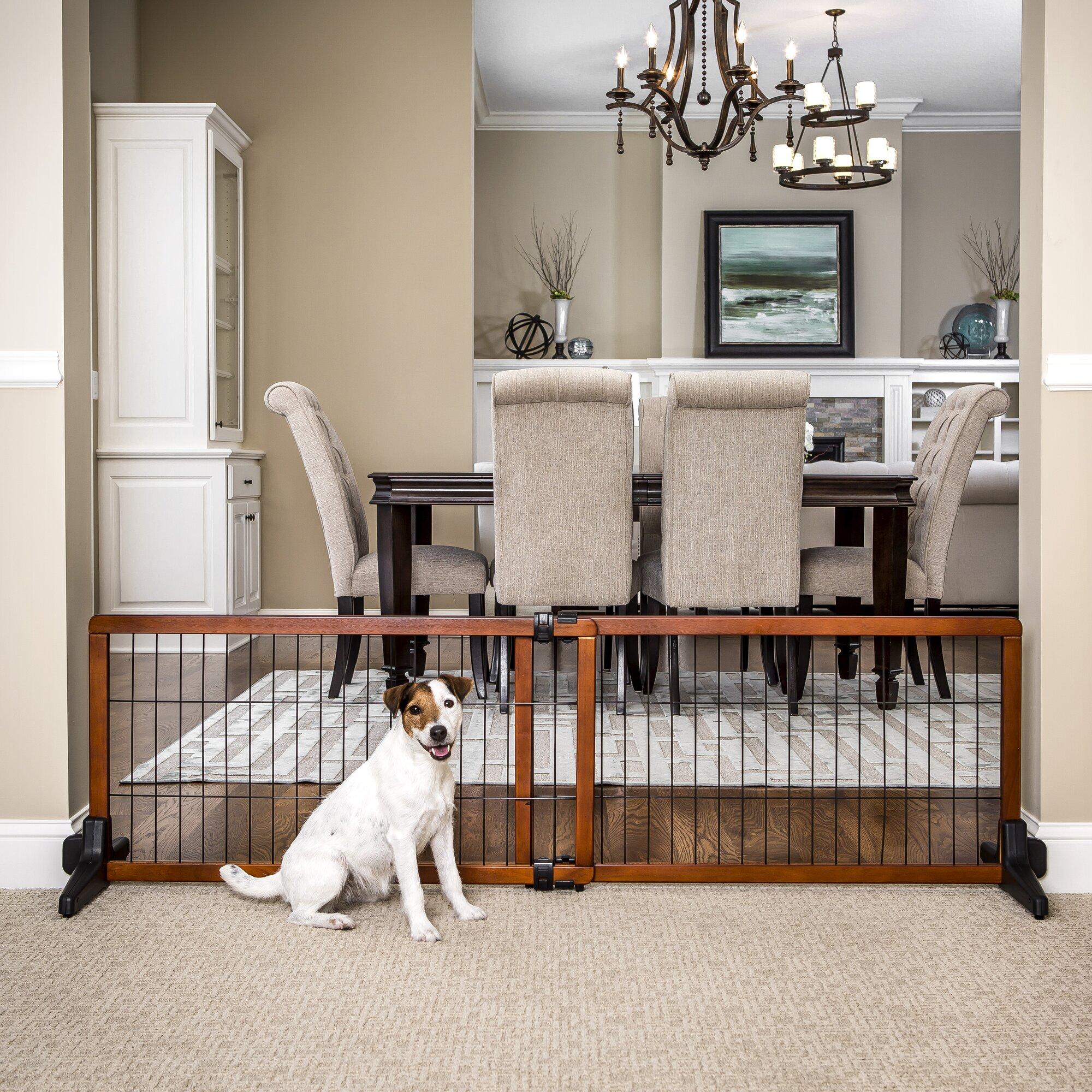 Carlson Pet Design Studio Free Standing Pet Gate Amp Reviews