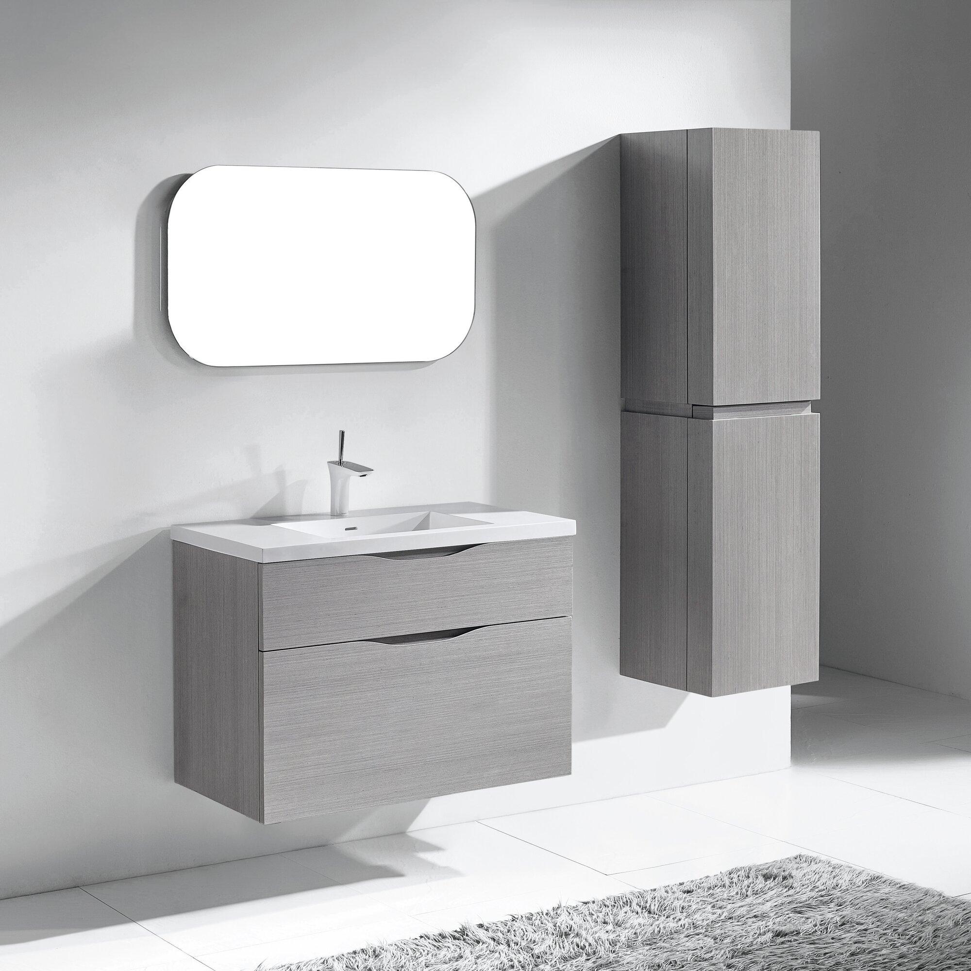 Cosmo Bathroom Accessories - Bolano 36 single bathroom vanity set