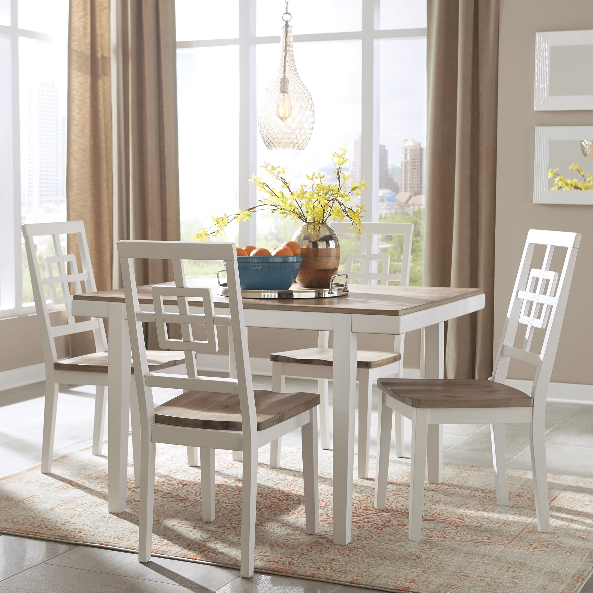 White Kitchen & Dining Room Sets You\'ll Love   Wayfair