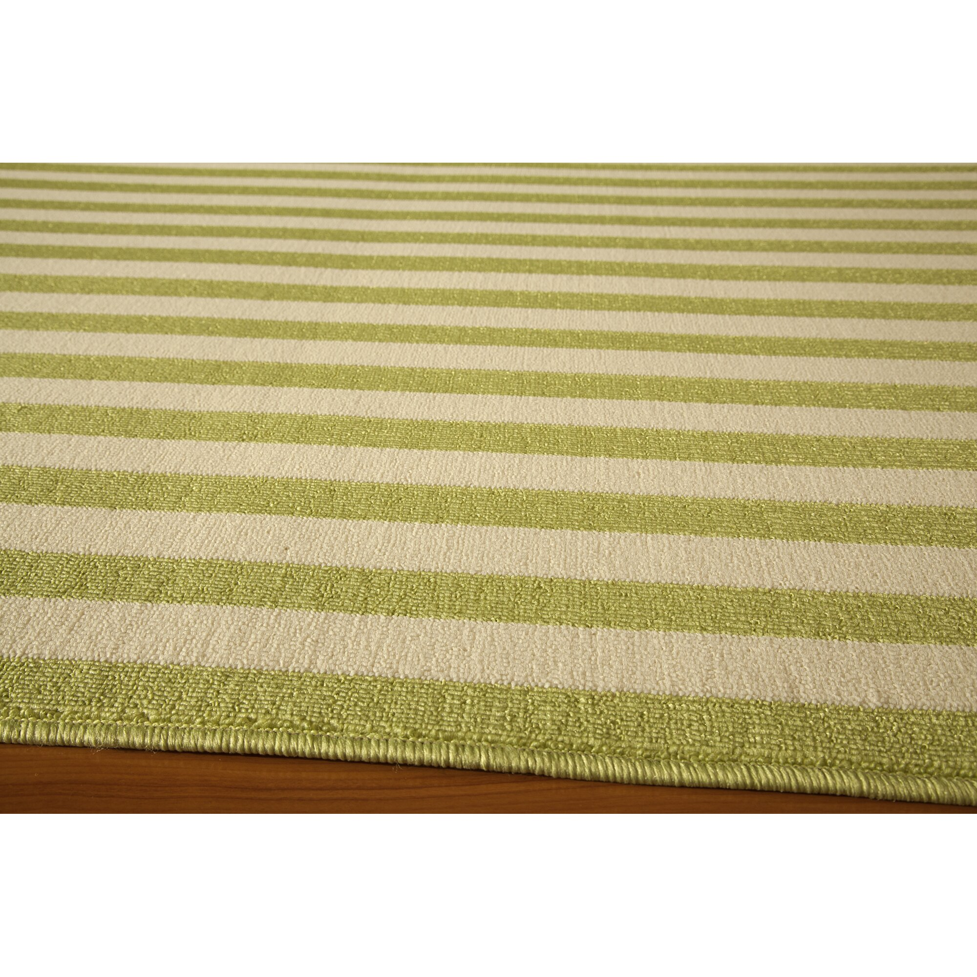 Harbeson green indoor outdoor area rug reviews birch lane for Indoor outdoor carpet green