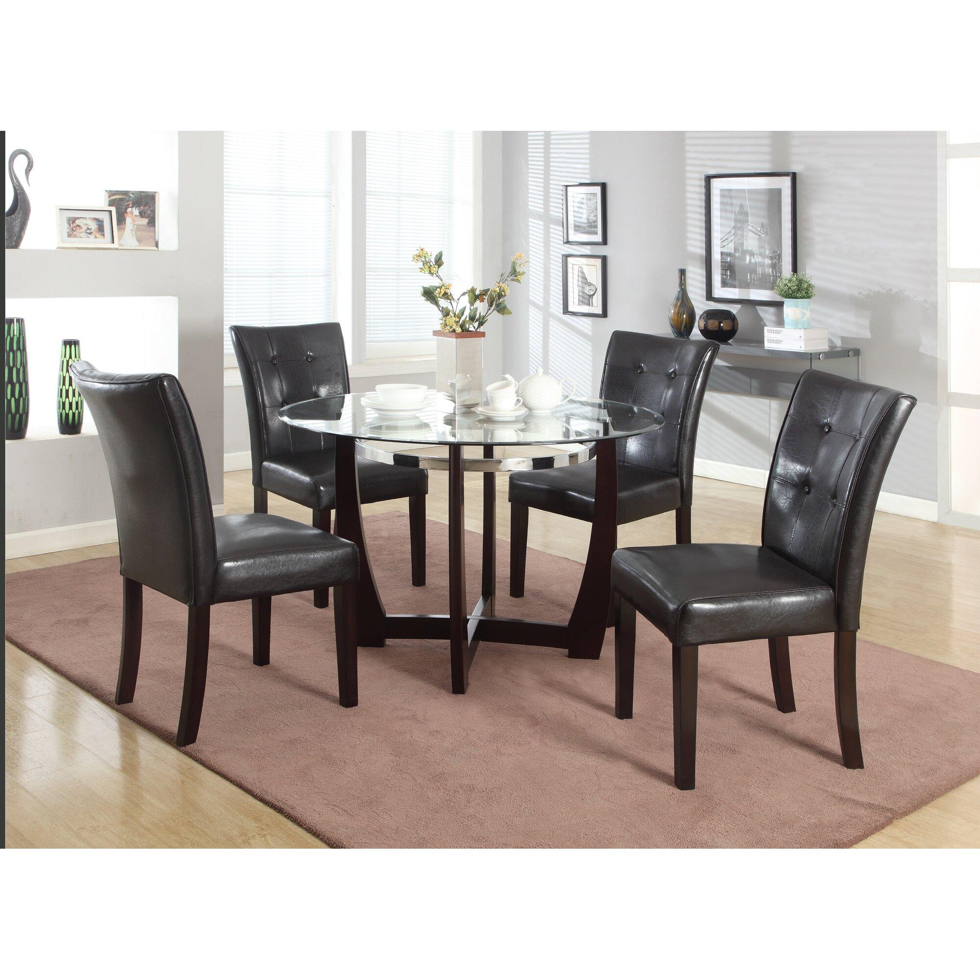 Round Kitchen & Dining Room Sets | Wayfair