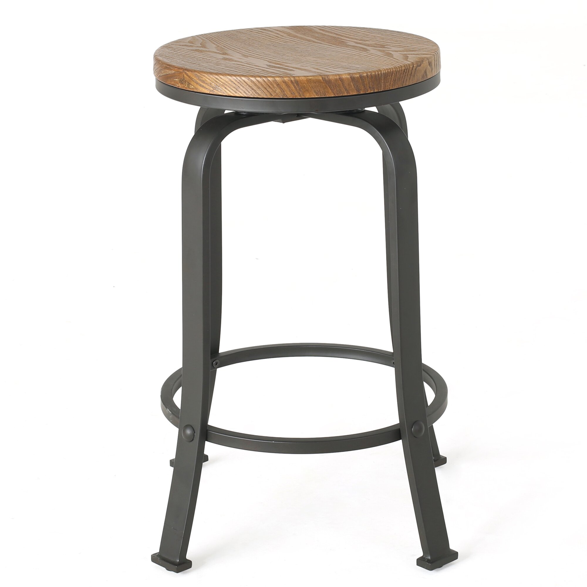 Darby Home Co Fortville 24 Quot Swivel Bar Stool Amp Reviews