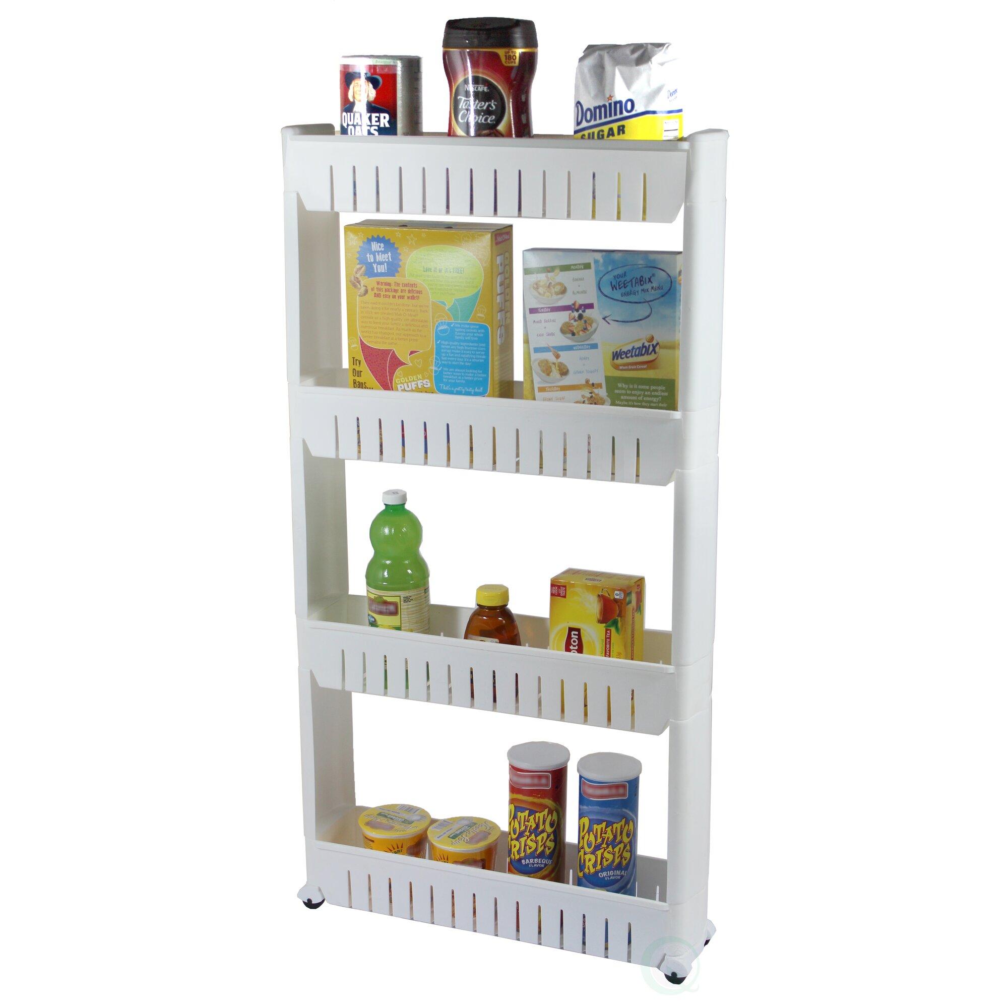 Basicwise Slim Kitchen Pantry Reviews Wayfair