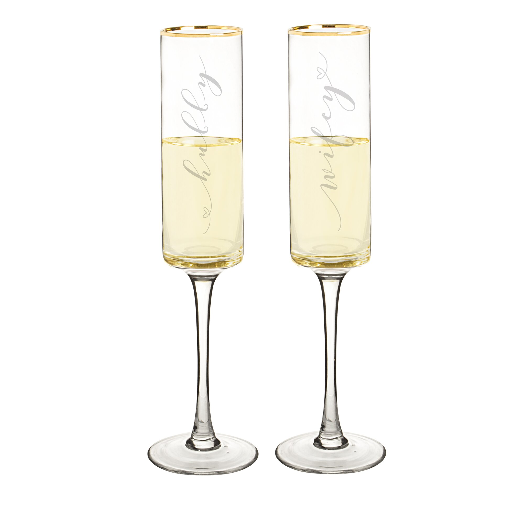 modern champagne flutes - modern champagne flutes