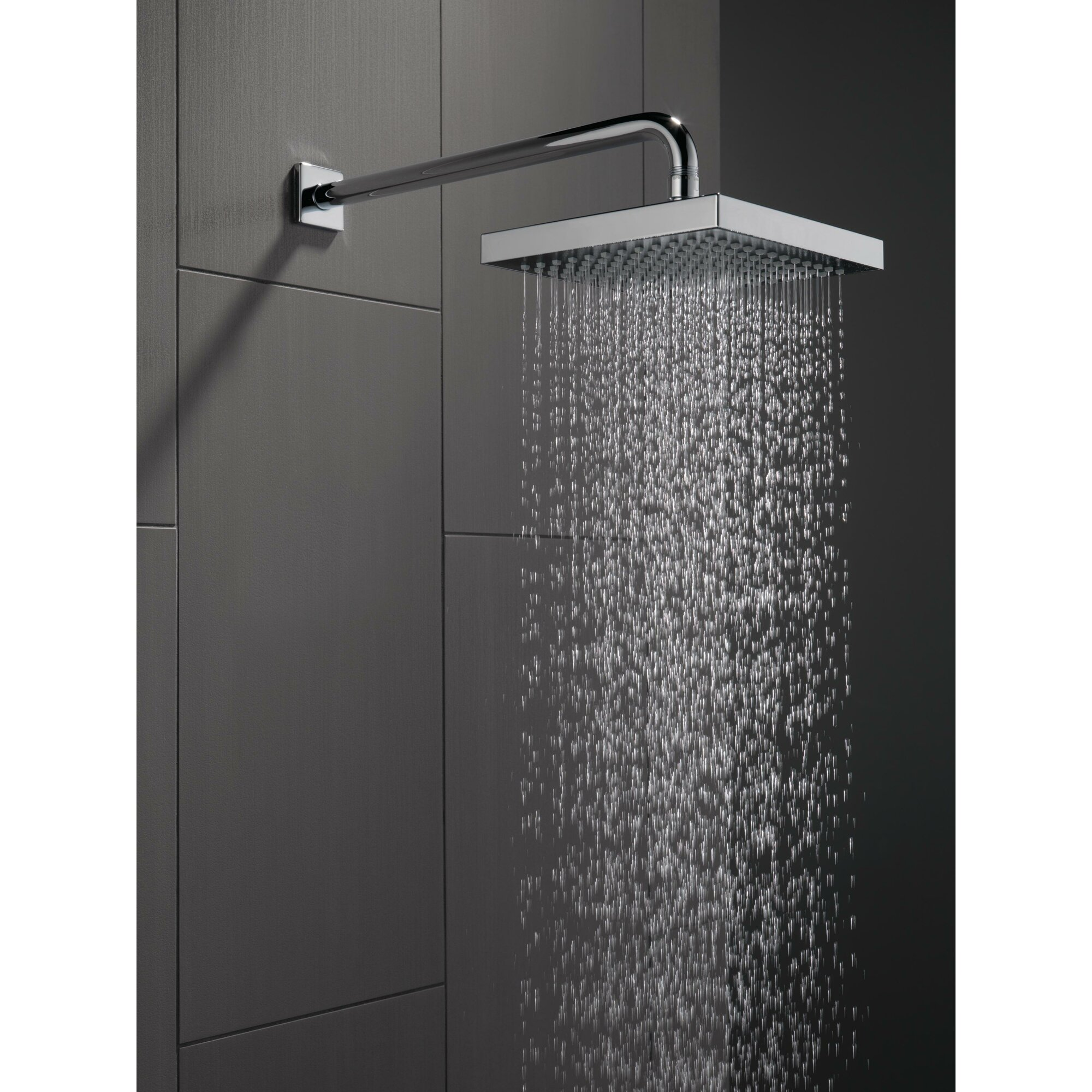 Delta Universal Showering Components Touch Clean Rain Can Shower Head R