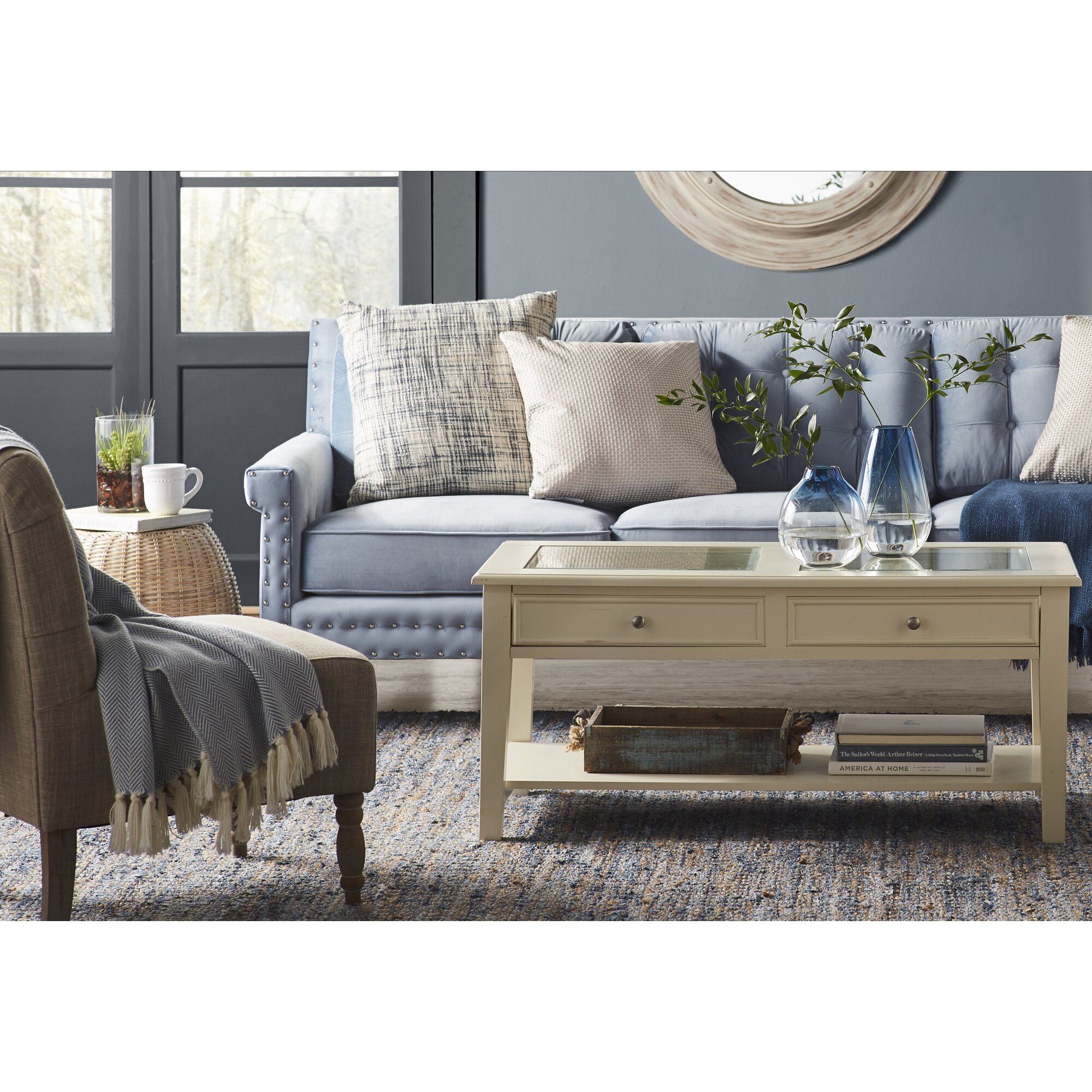 French Country Accent Chair Instachair