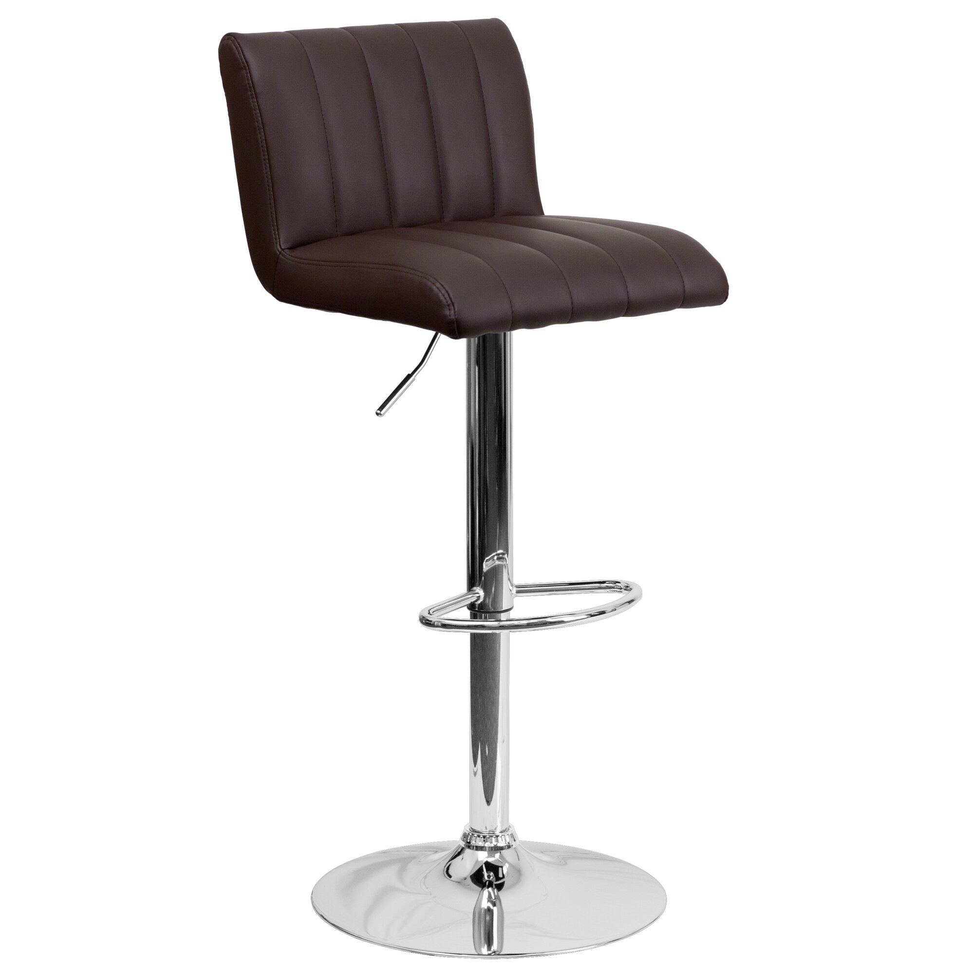 Lovely bar stool foot rail protectors images - Bar height chair slipcovers ...