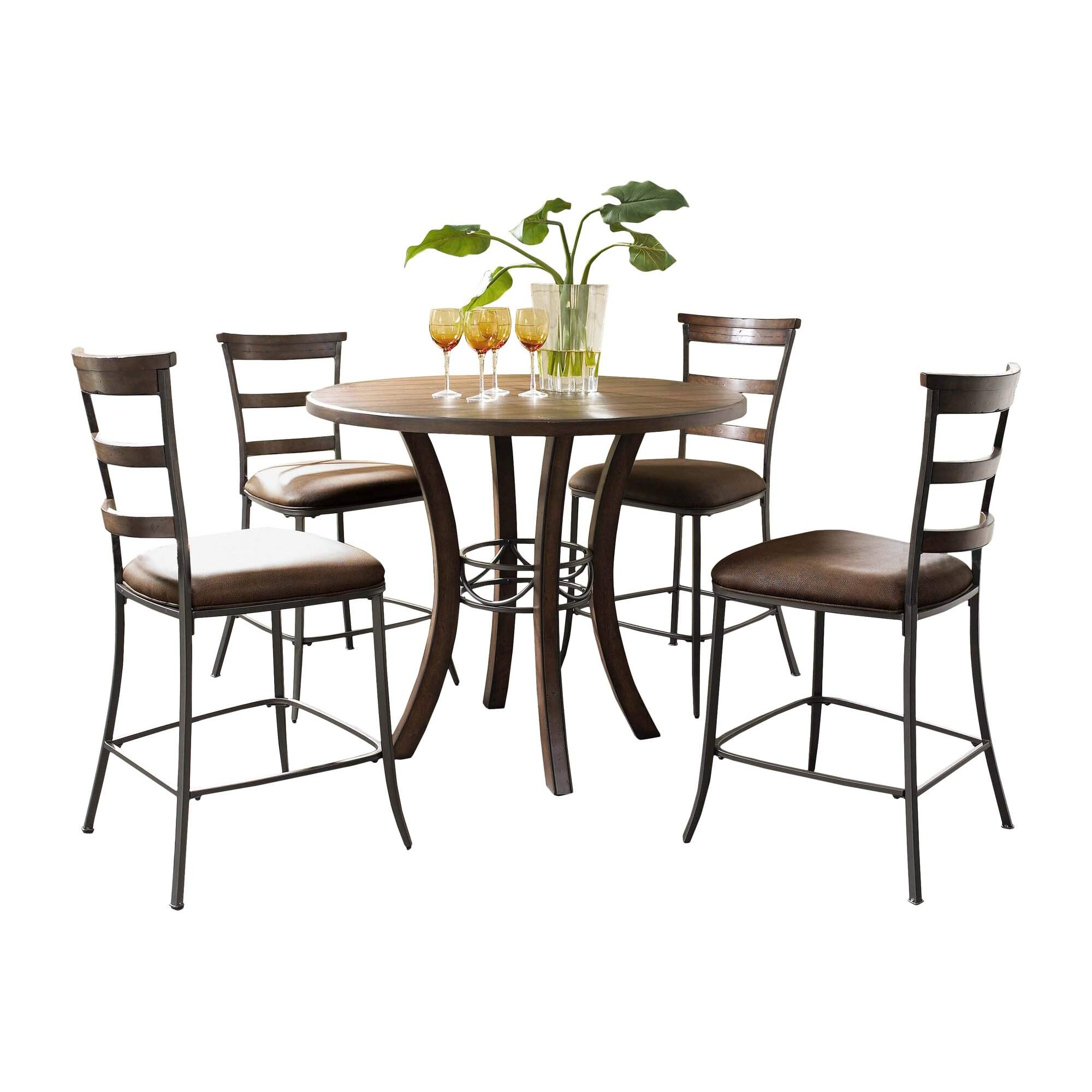royalton 5 piece counter height dining set reviews