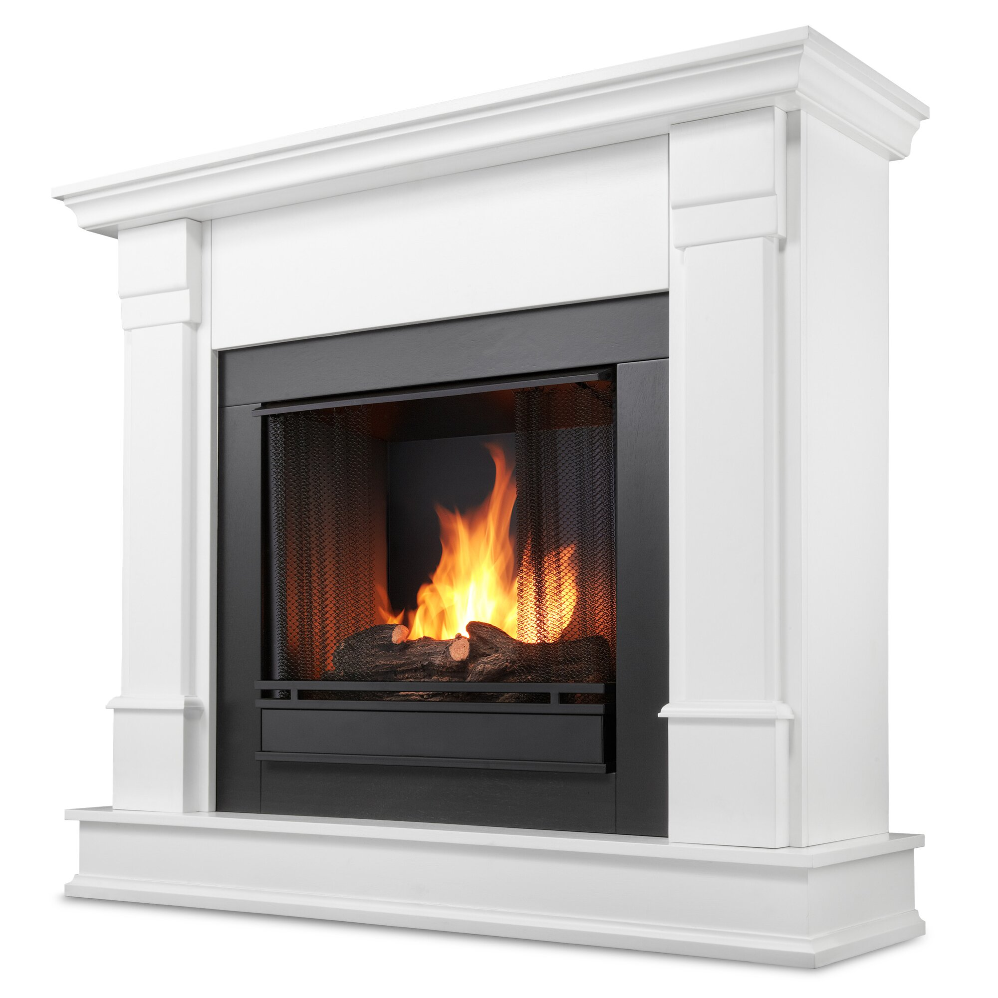 real flame silverton gel fuel fireplace reviews wayfair. Black Bedroom Furniture Sets. Home Design Ideas