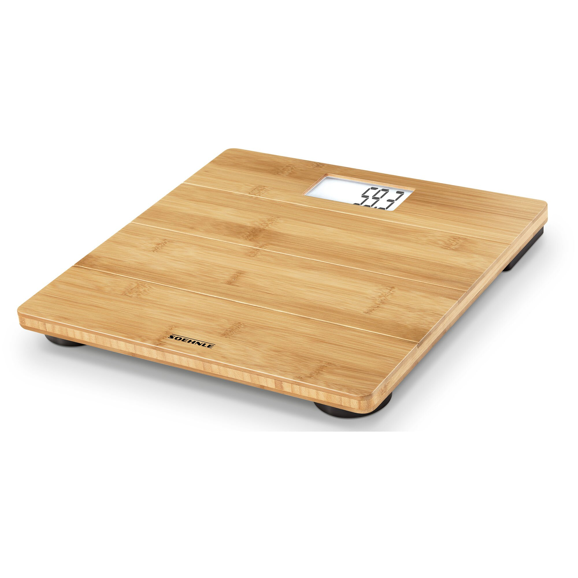 Calibrate digital bathroom scale - Soehnle Bamboo Personal Digital Scale