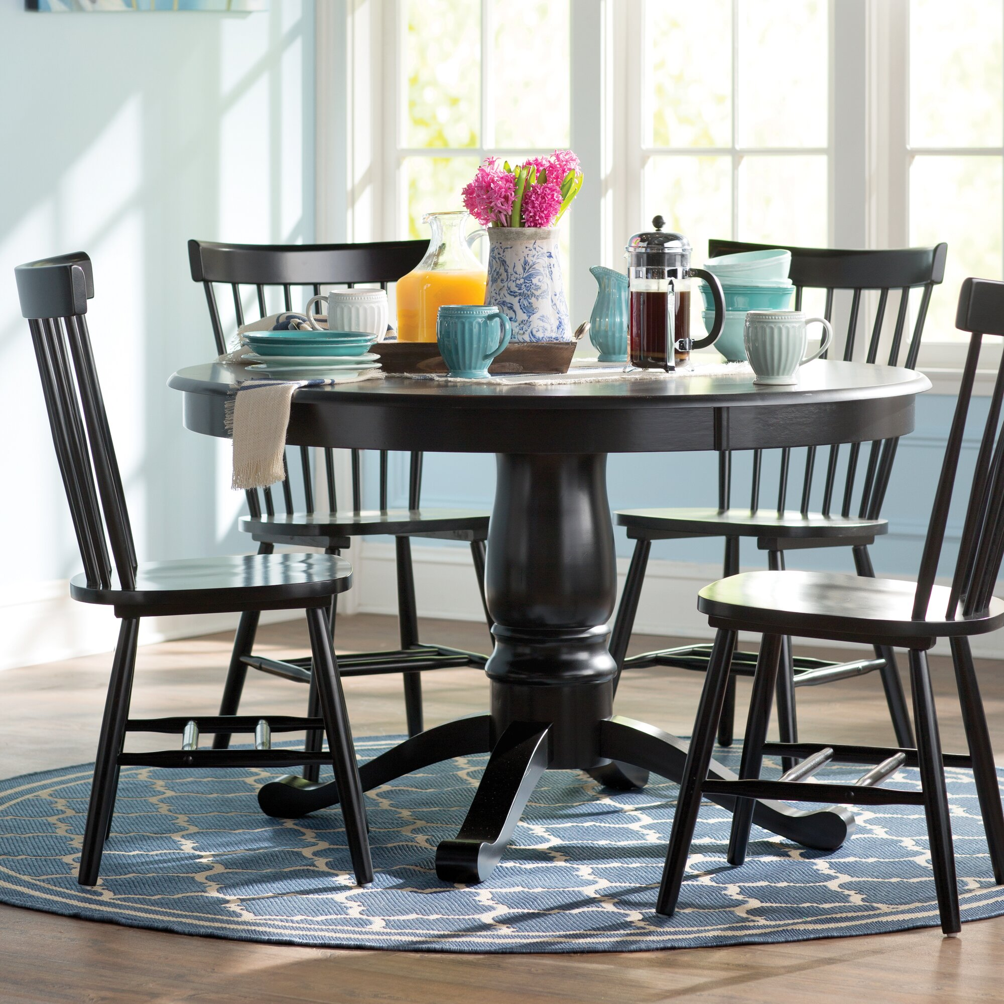 Breakwater bay benton 5 piece dining set reviews wayfair for 2 piece dining room set