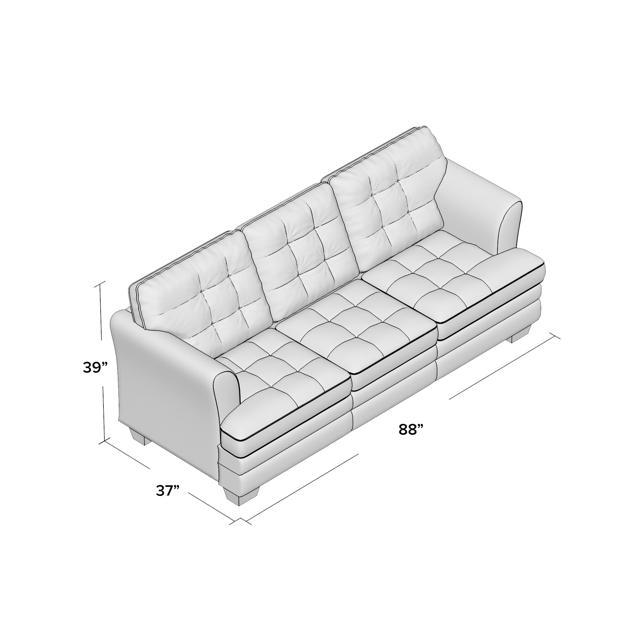 Alcott Hill Simmons Upholstery Rathdowney Sleeper Sofa Reviews