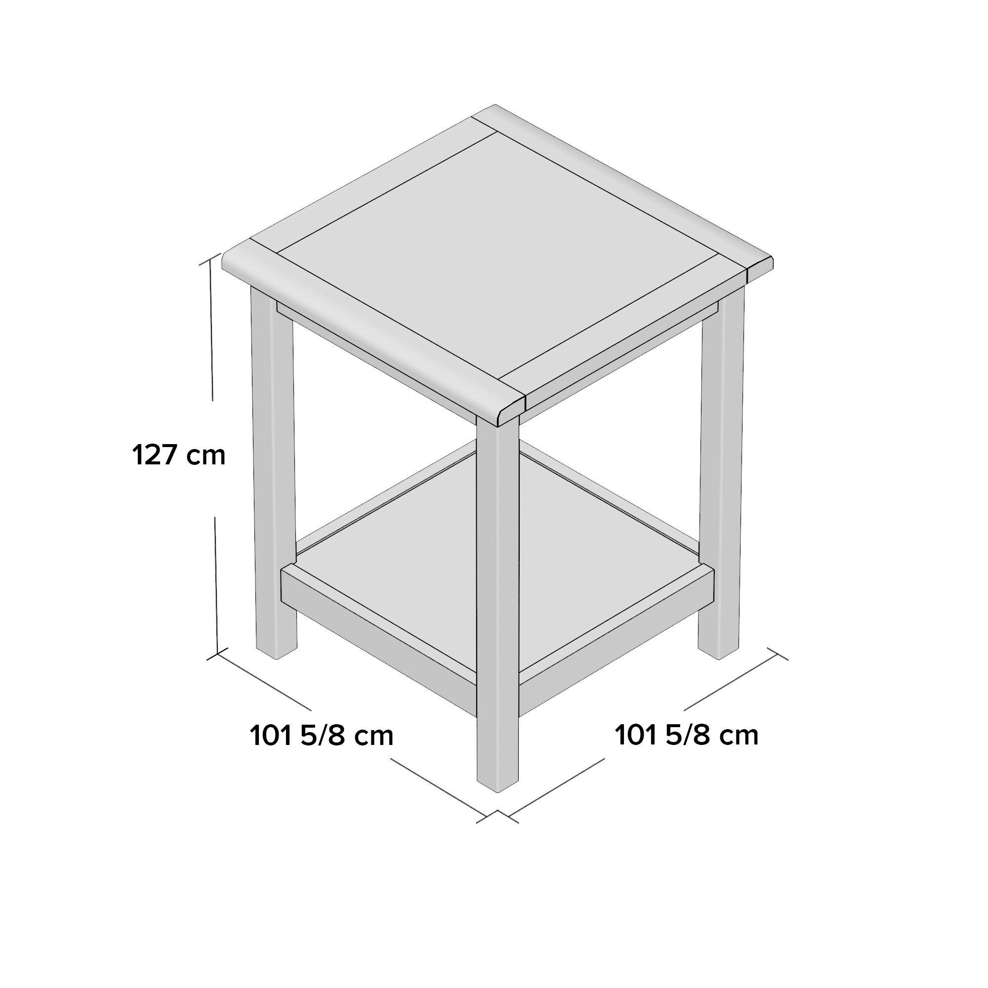 m hlenhaus beistelltisch ivana mit stauraum bewertungen. Black Bedroom Furniture Sets. Home Design Ideas