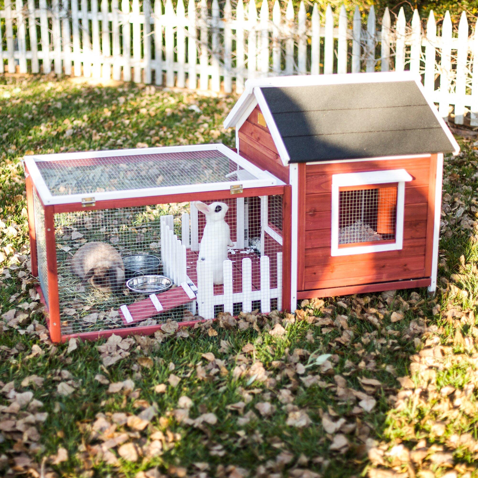 Advantek The White Picket Fence Rabbit Hutch Amp Reviews