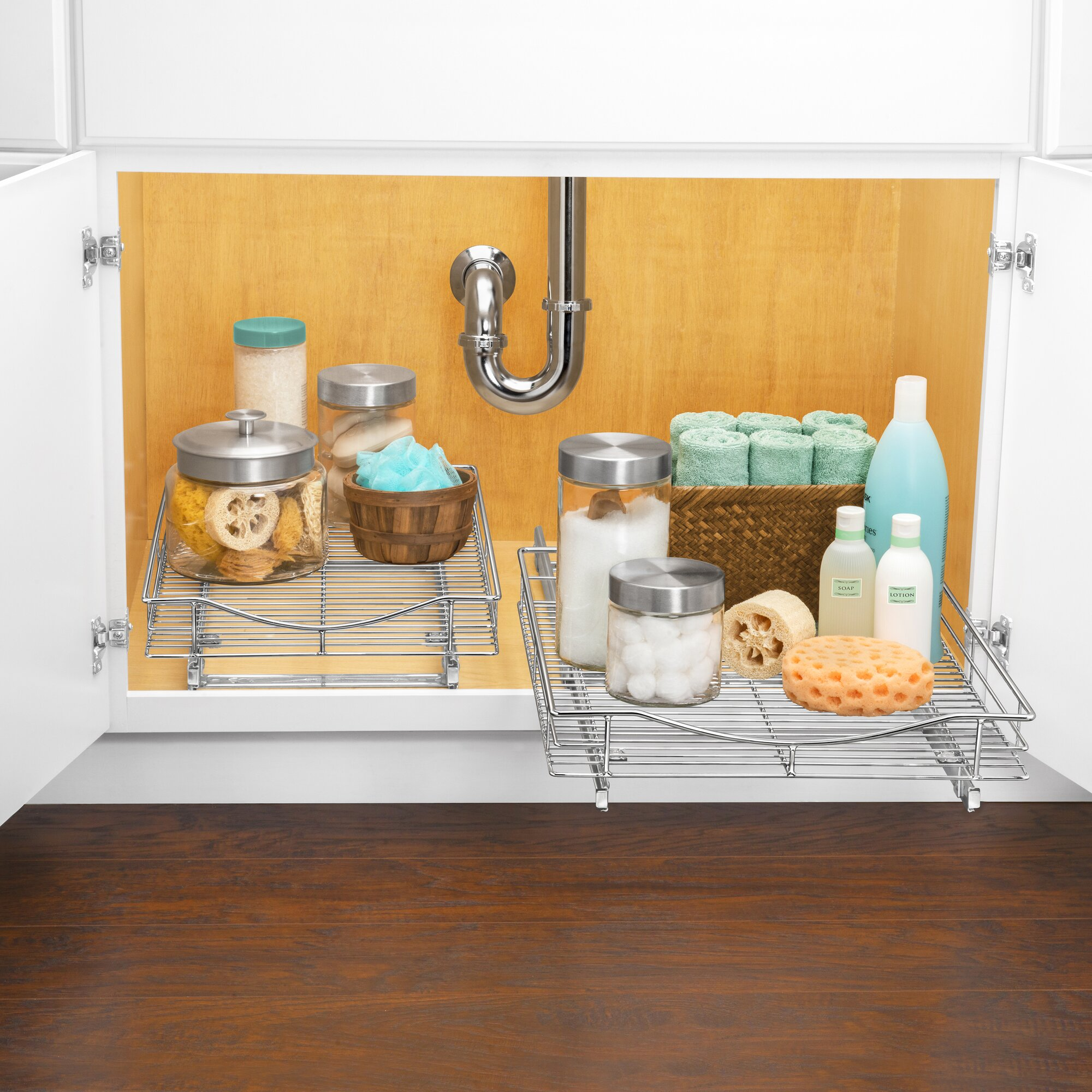 Cabinet Organizer With Drawer. Loved. Small Parts Drawer In ...