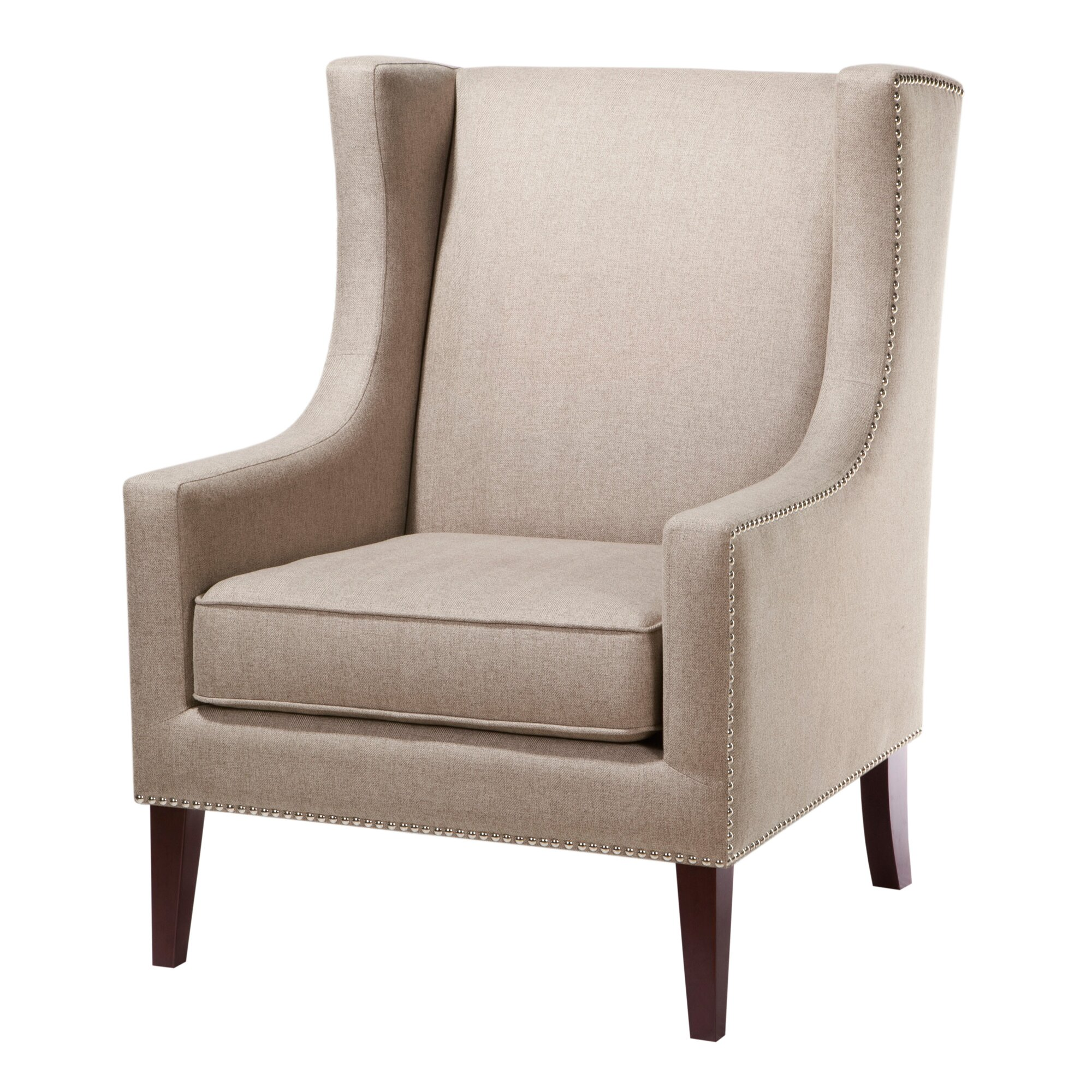 Three posts agnes wingback chair reviews wayfair for Wingback chair