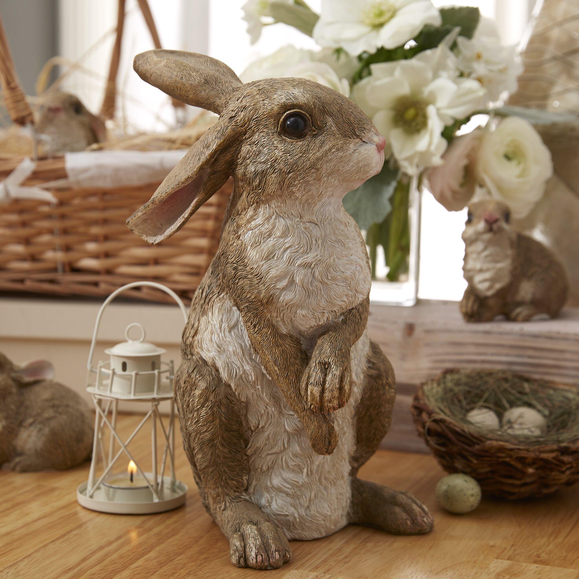 Uncategorized Bunny Kitchen Appliances design toscano hopper the bunny standing garden rabbit statue statue
