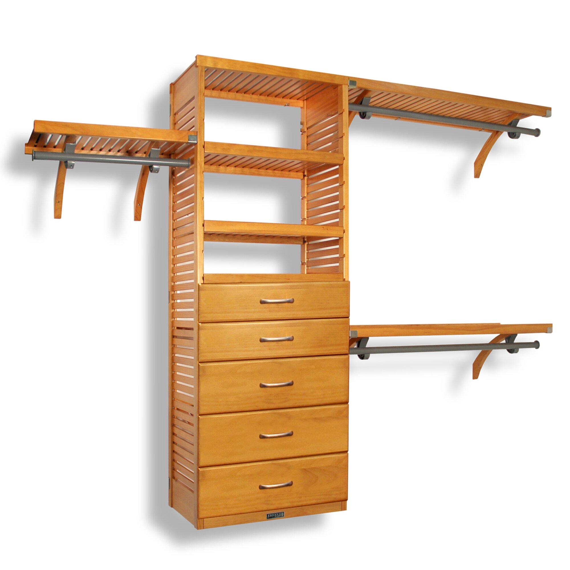 Closet Systems & Organizers You'll Love   Wayfair