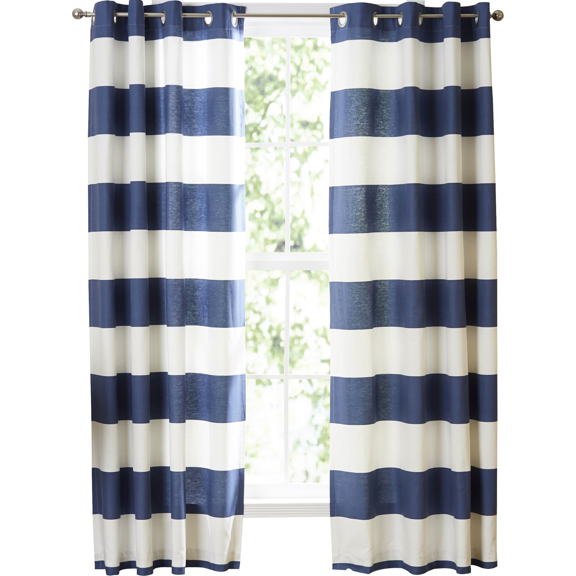 Nautica Nautica Cabana Stripe Curtain Panels Amp Reviews