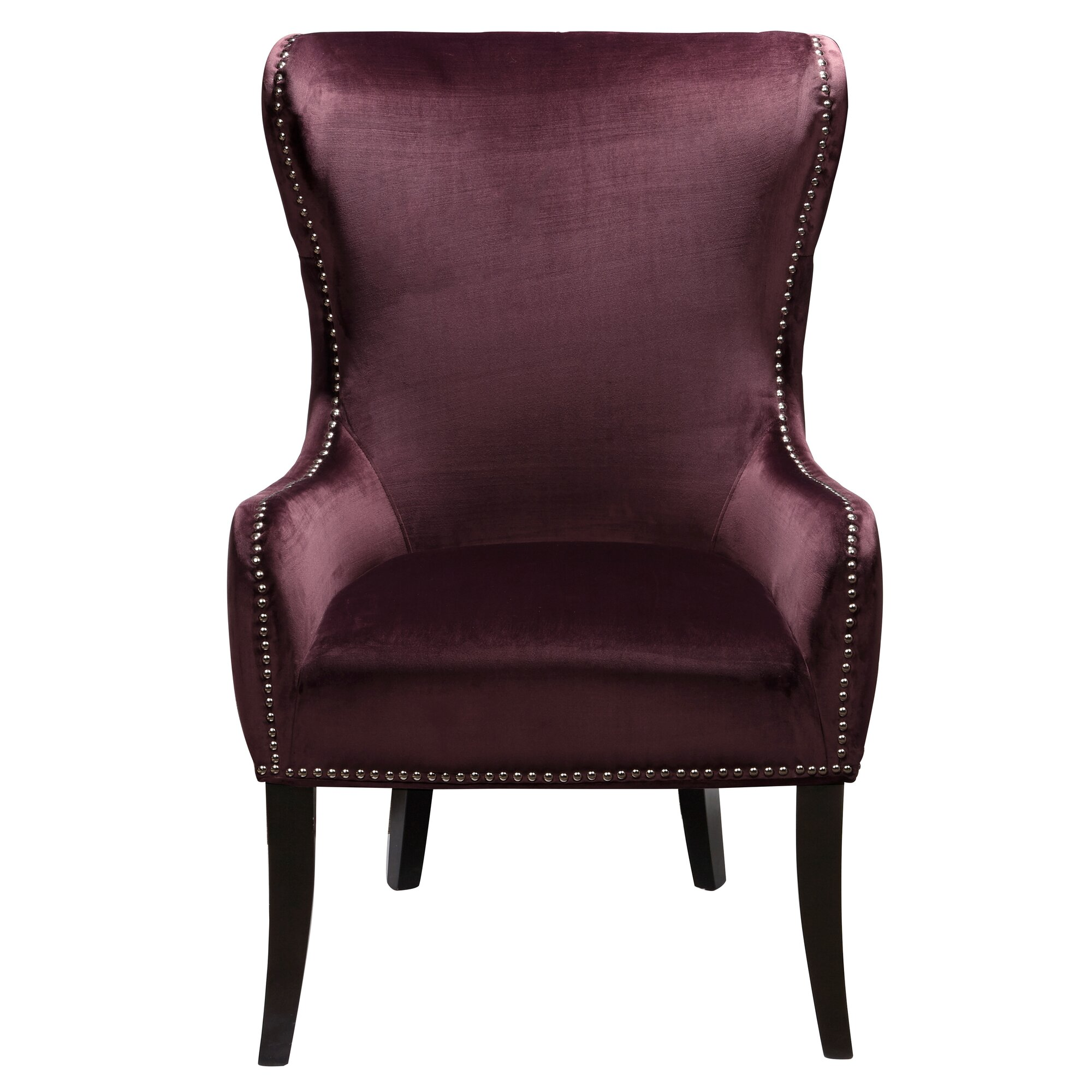 house of hampton catalina traditional wing back chair. Black Bedroom Furniture Sets. Home Design Ideas
