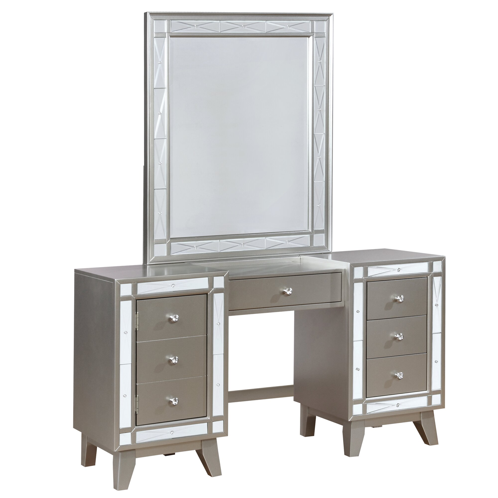 Willa arlo interiors alessia vanity set reviews wayfair - Willa arlo interiors keeley bar cart ...