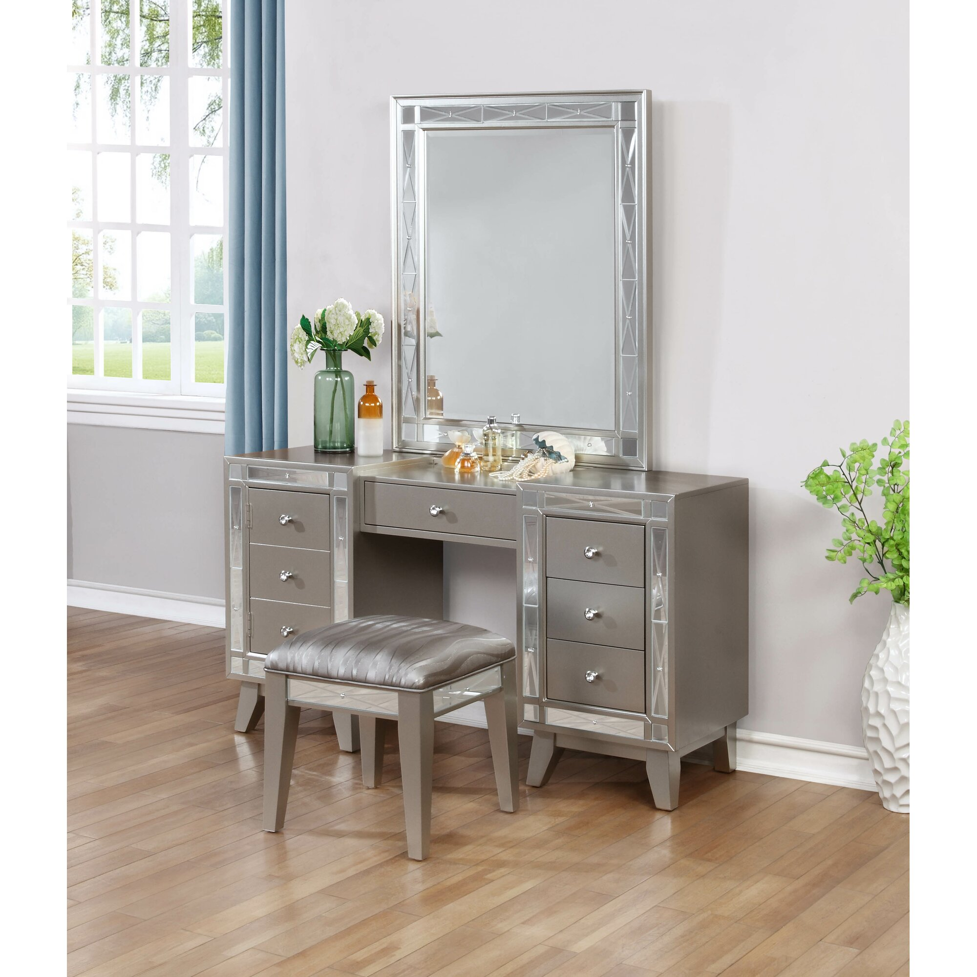 Willa Arlo Interiors Alessia Rectangular Vanity Mirror Reviews Wayfair