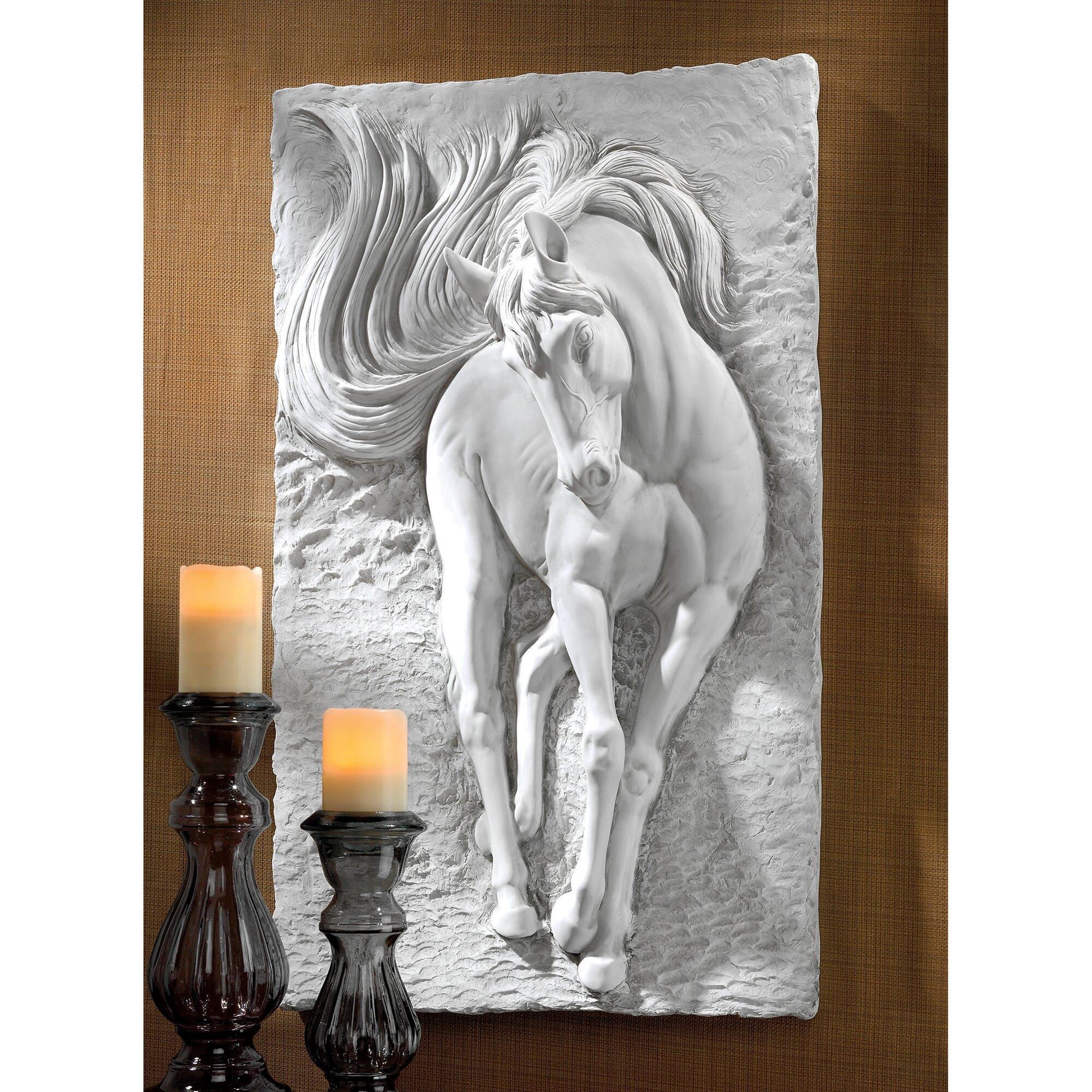 Design Toscano Equine Grandeur Horse Wall D 233 Cor Amp Reviews