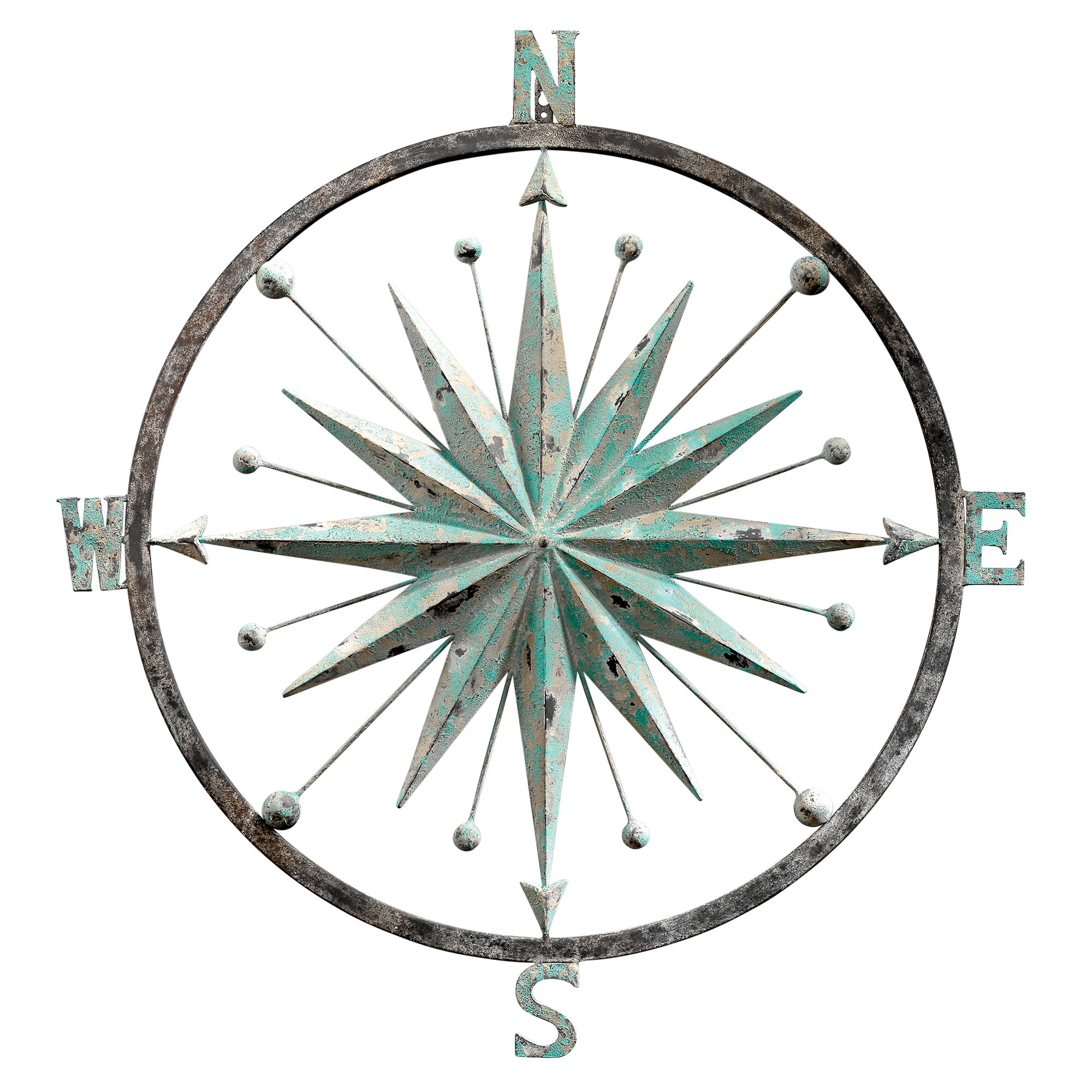 Design Toscano Rose of the Winds Compass Rose Wall Décor ...
