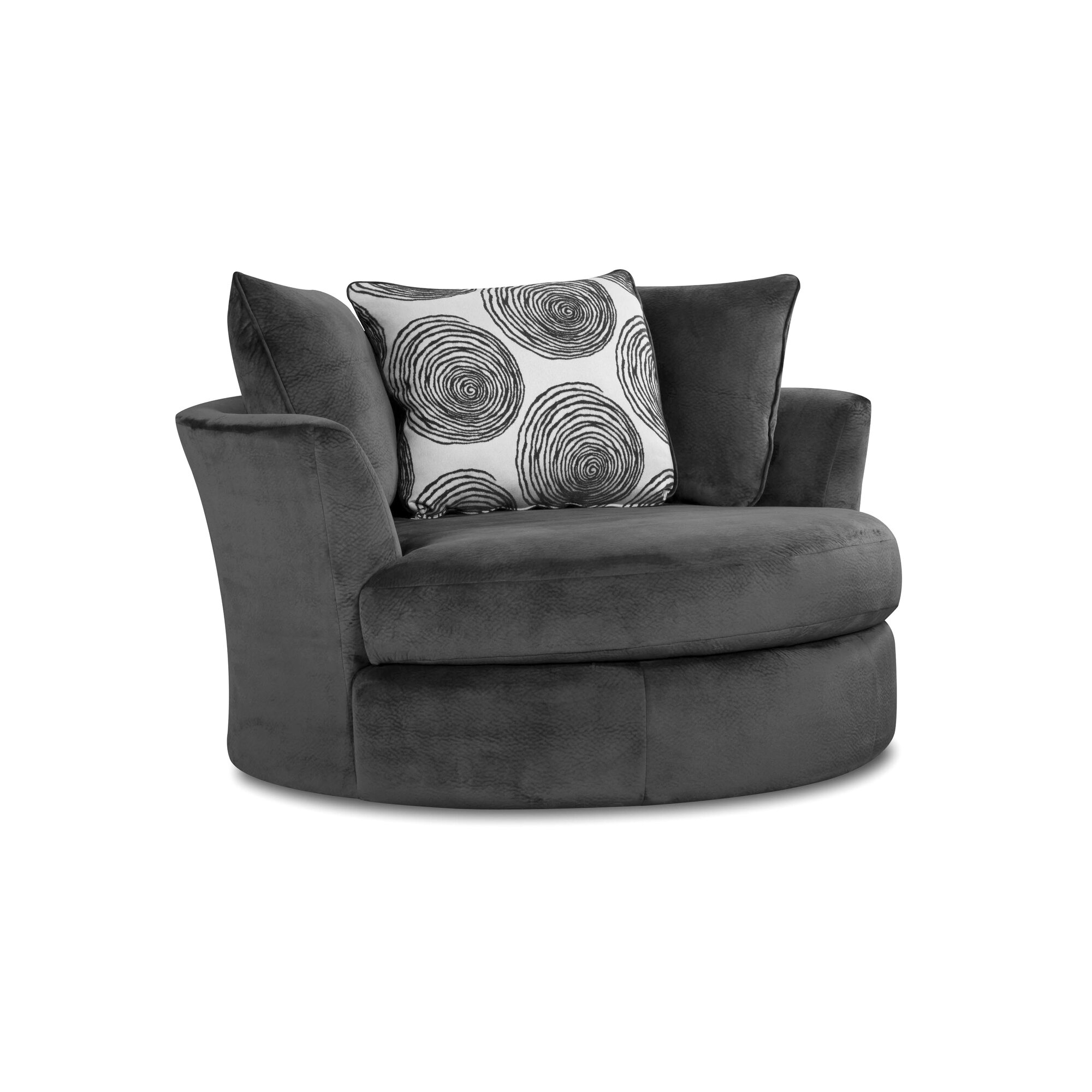 Swivel Chairs Youll Love Wayfair -  black and white chairs