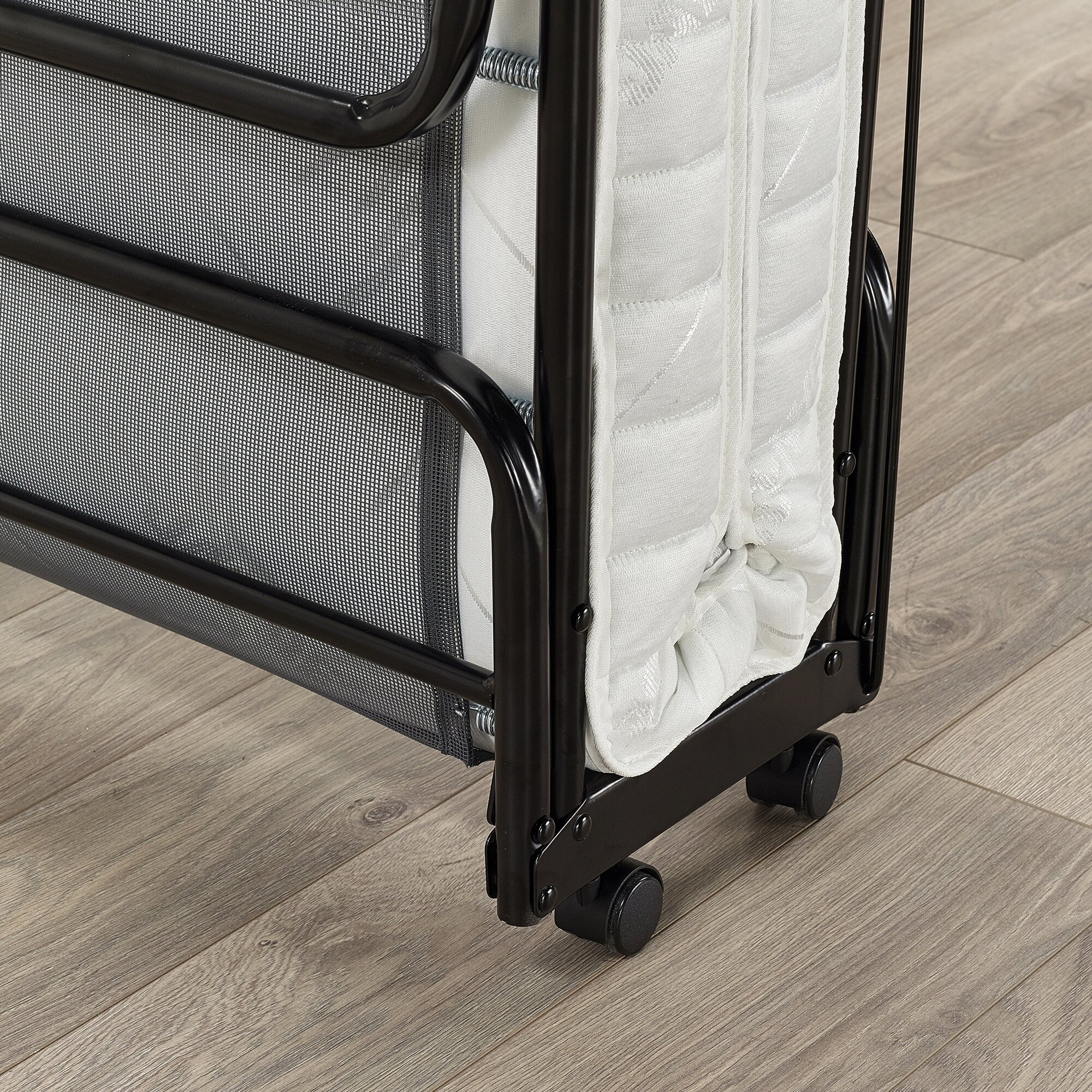 Folding Bed Automatic : Jay be supreme automatic folding bed with pocket sprung