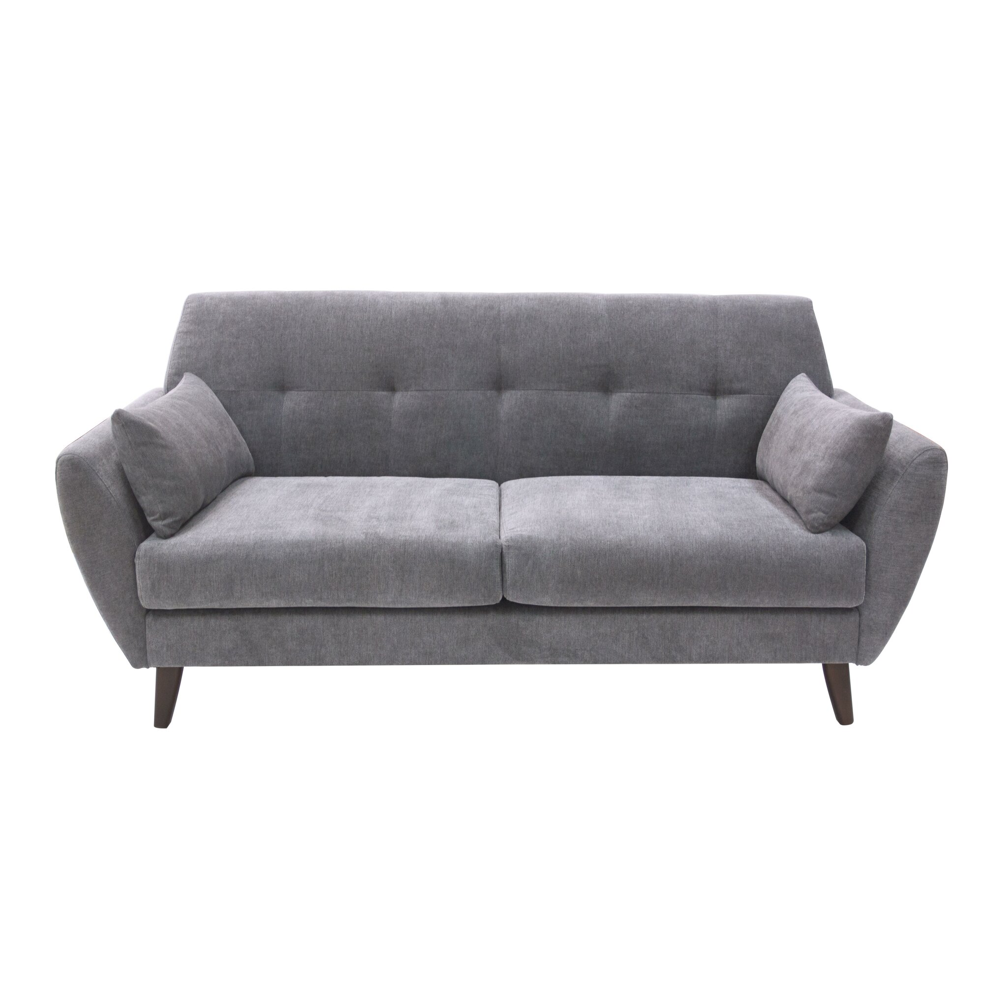 Mid Century Modern Sofas: Elle Decor Amelie Mid-Century Modern Sofa & Reviews