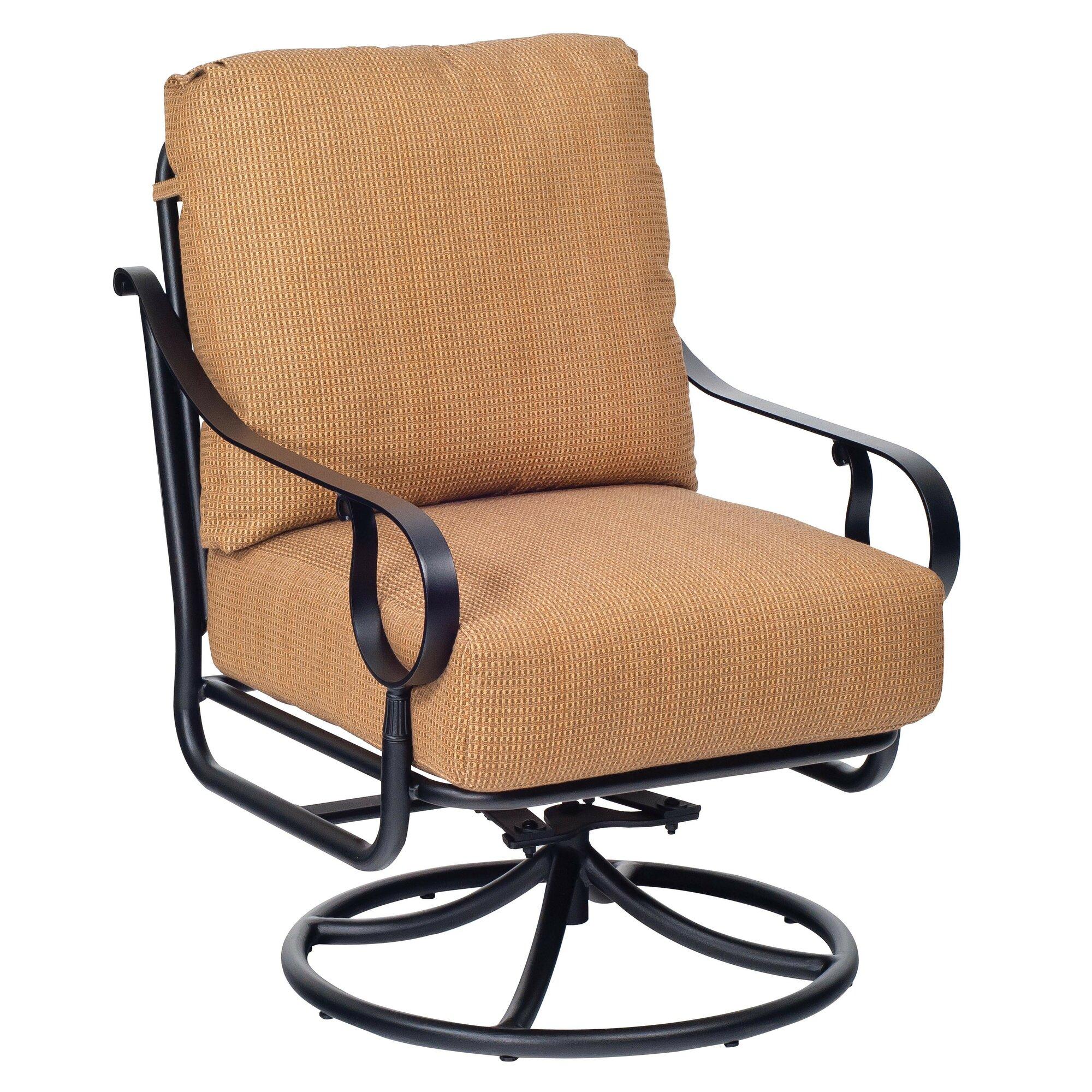 Woodard Ridgecrest Swivel Rocking Lounge Chair  Wayfair.ca