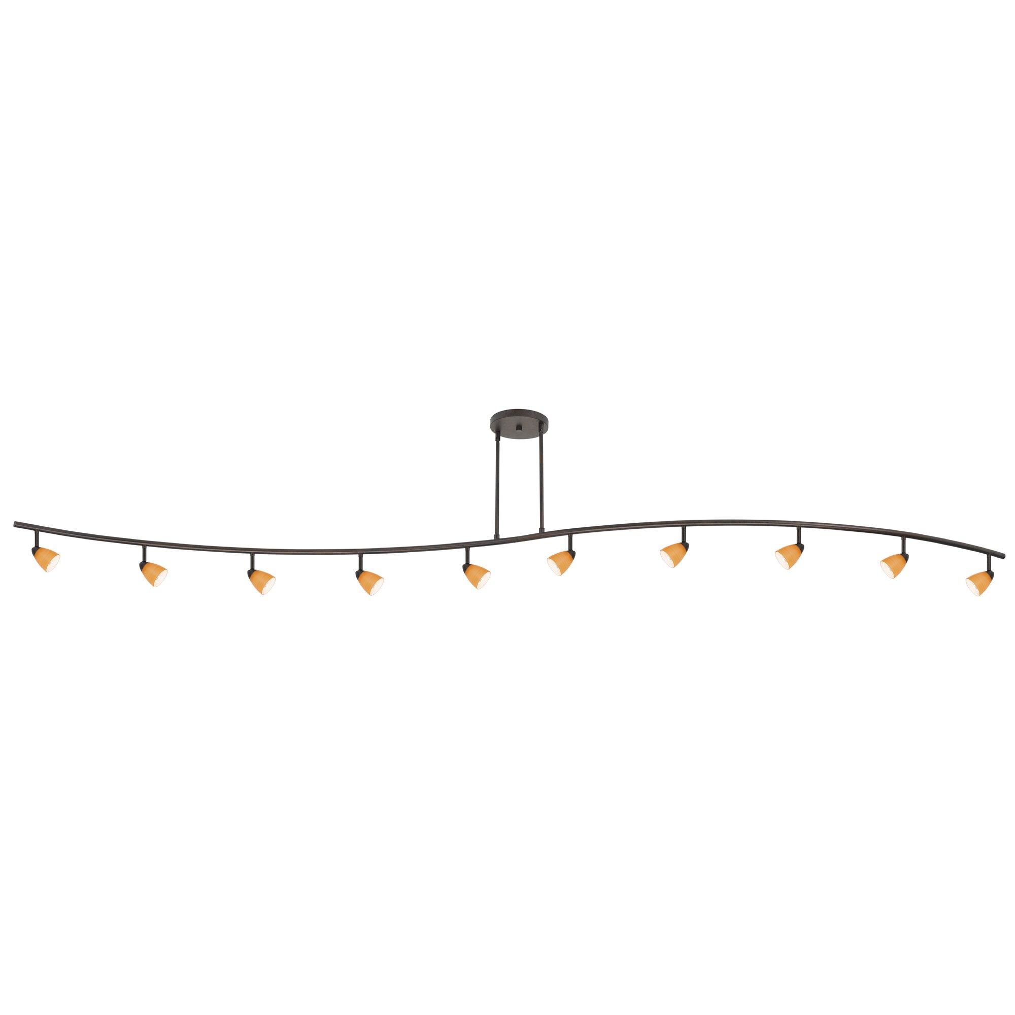 industrial track lighting industrial track lighting zoom. industrial track lighting zoom alberto 10light full kit with glass u