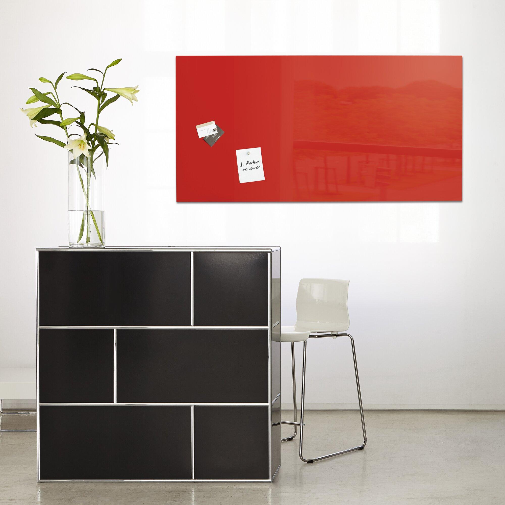 sigel sigel magnetic glass memo board reviews. Black Bedroom Furniture Sets. Home Design Ideas