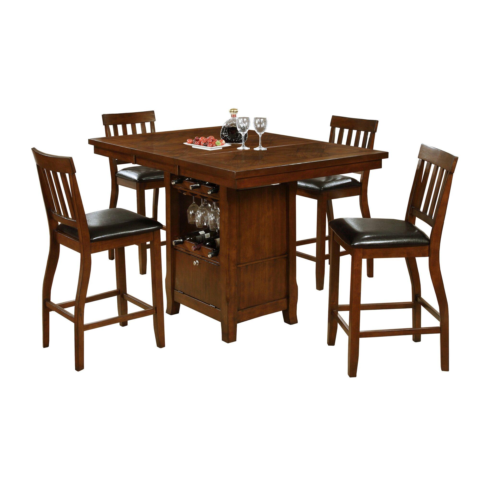 Red barrel studio sawyerville 7 piece pub table set for Cie publication 85 table 2