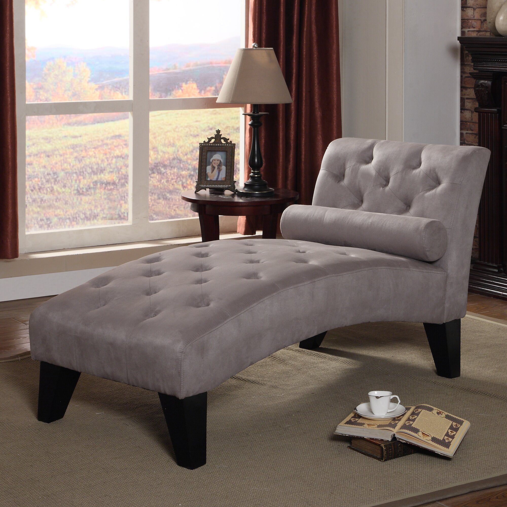 Zipcode Design Anabelle Chaise Lounge  Reviews Wayfair - Chaise lounge in living room