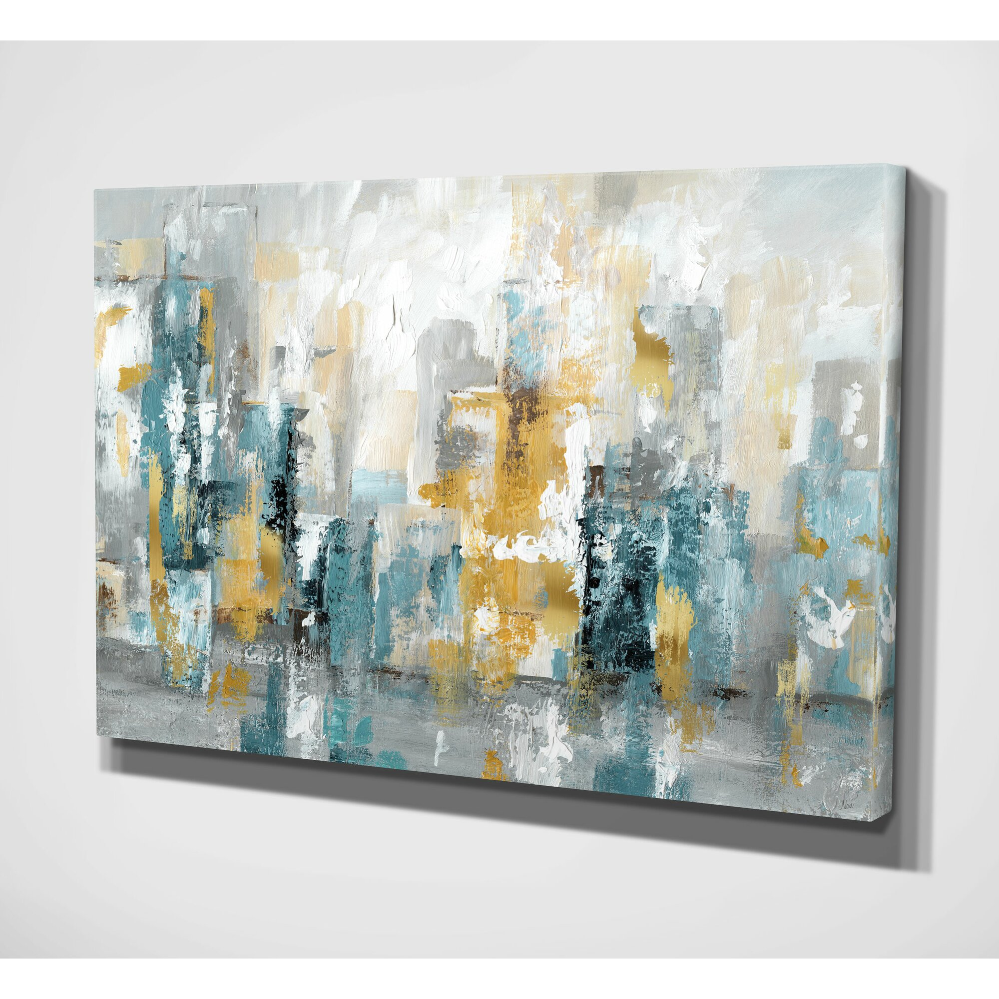 Wexfordhome City Views Ii Painting Print On Wrapped