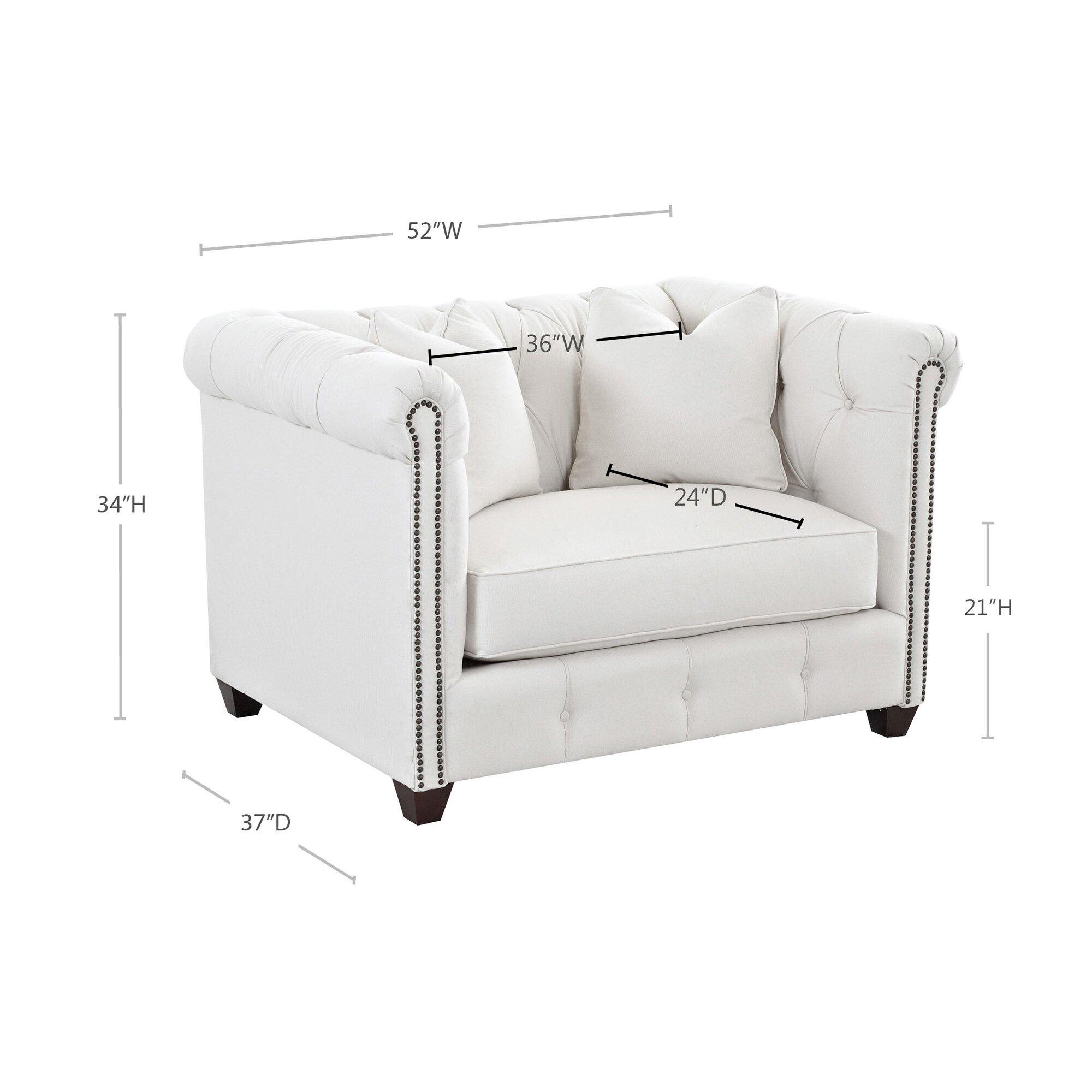 Wayfair Custom Upholstery Harrison Mid Century Accent