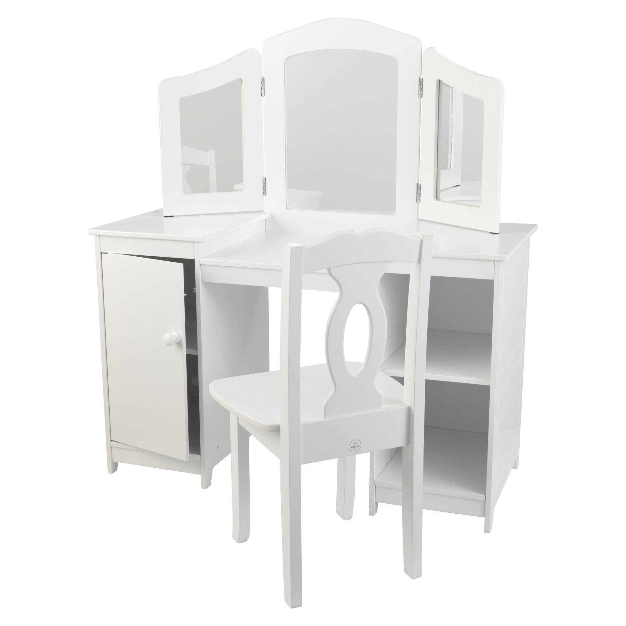 Kidkraft 2 Piece Retro Kitchen White