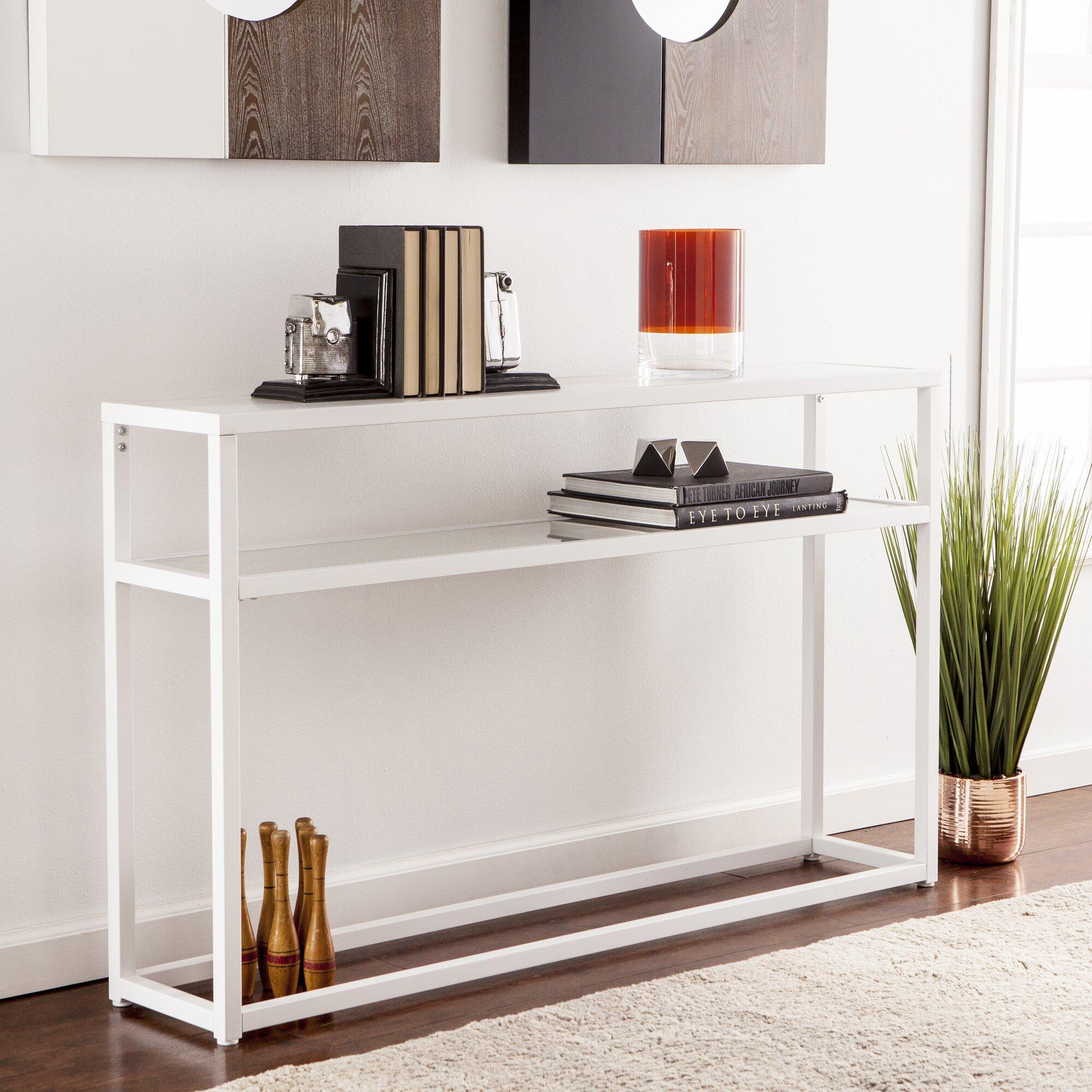 holly martin baldrick narrow console table reviews. Black Bedroom Furniture Sets. Home Design Ideas
