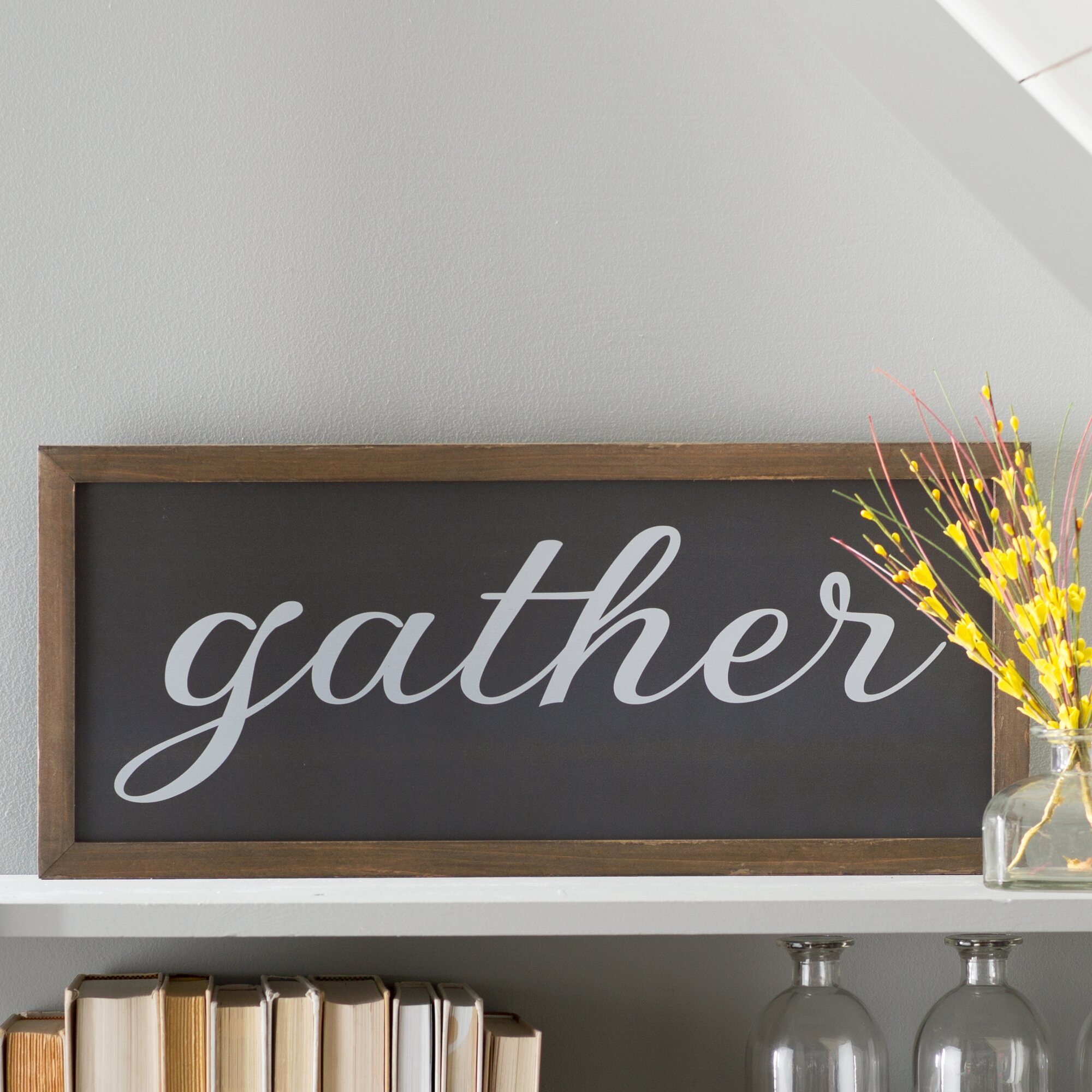Laurel Foundry Modern Farmhouse Gather Galvanized Metal