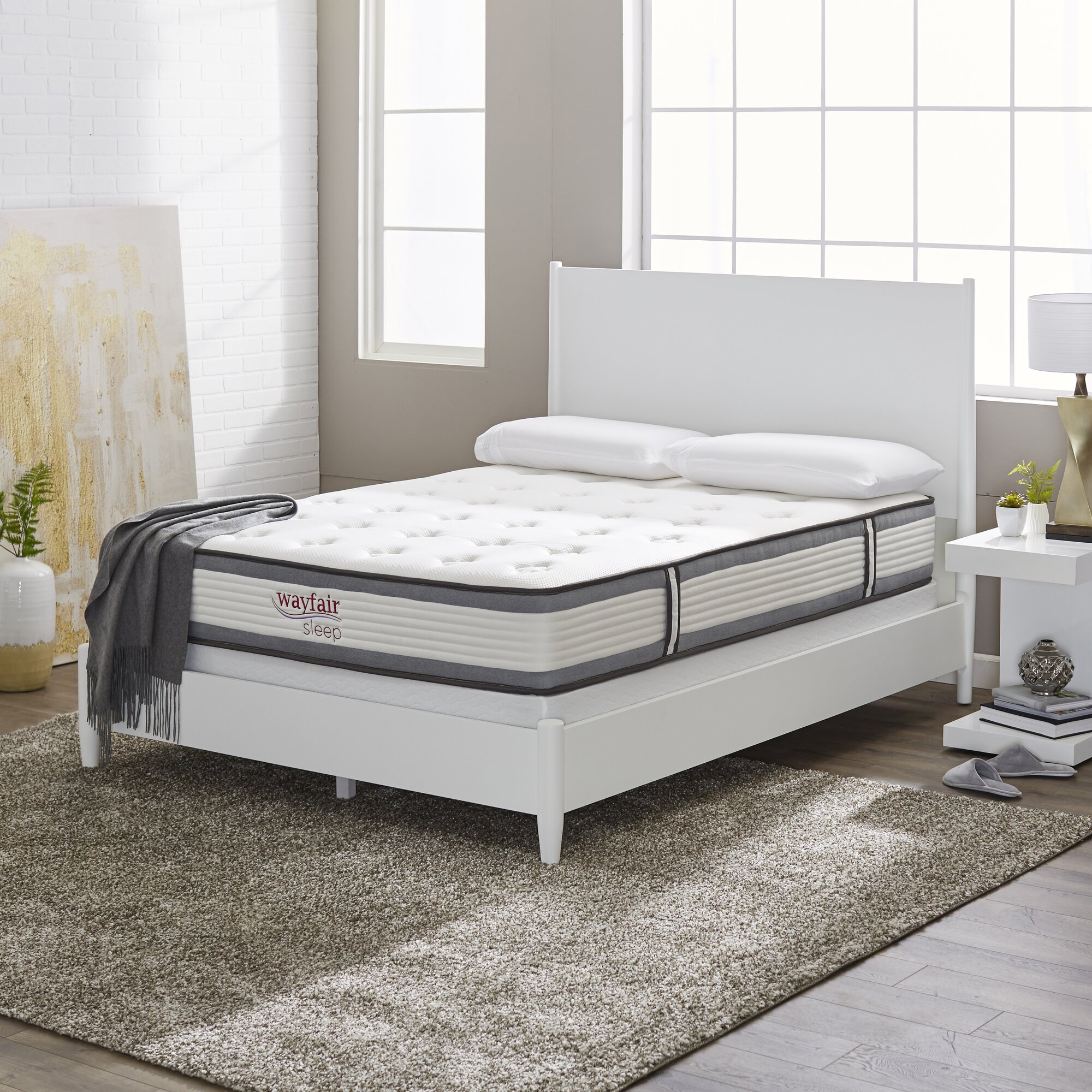 wayfair sleep wayfair sleep 10 5 plush hybrid mattress reviews wayfair. Black Bedroom Furniture Sets. Home Design Ideas