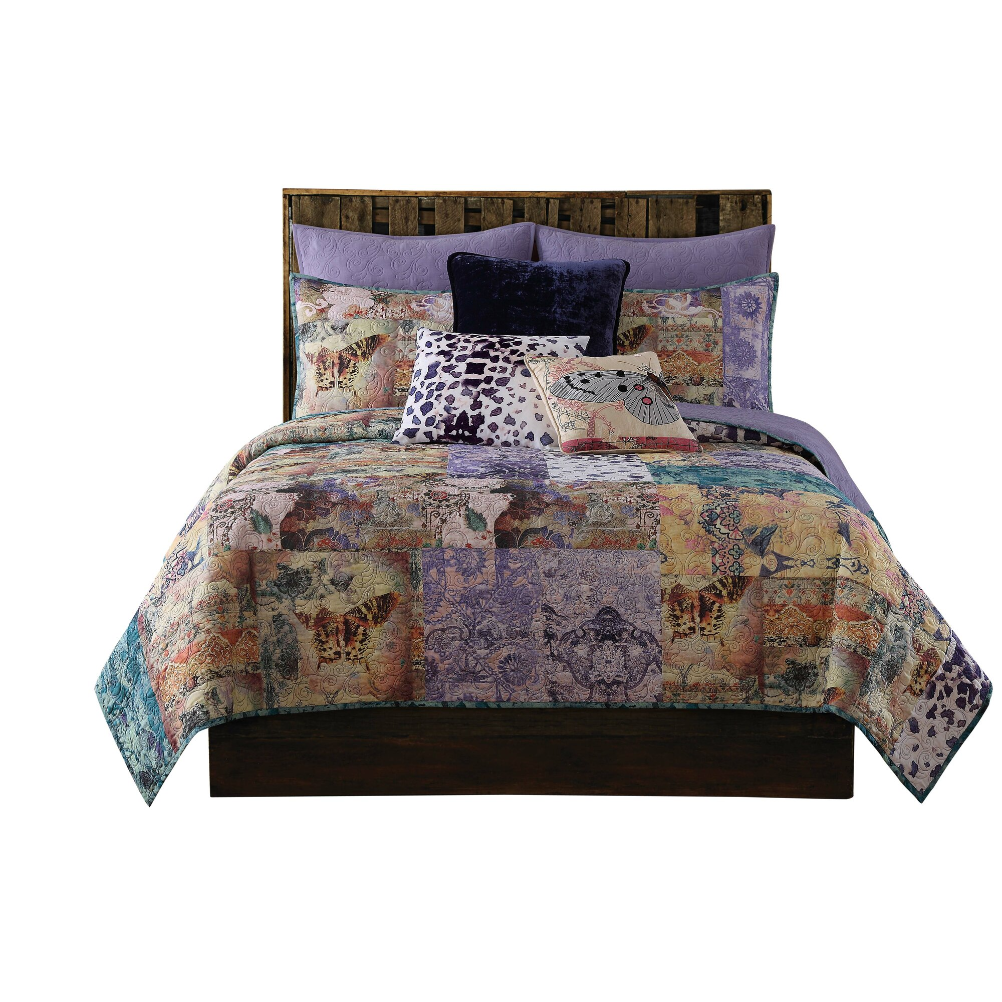 asli co sheets aetherair quilt bed plum