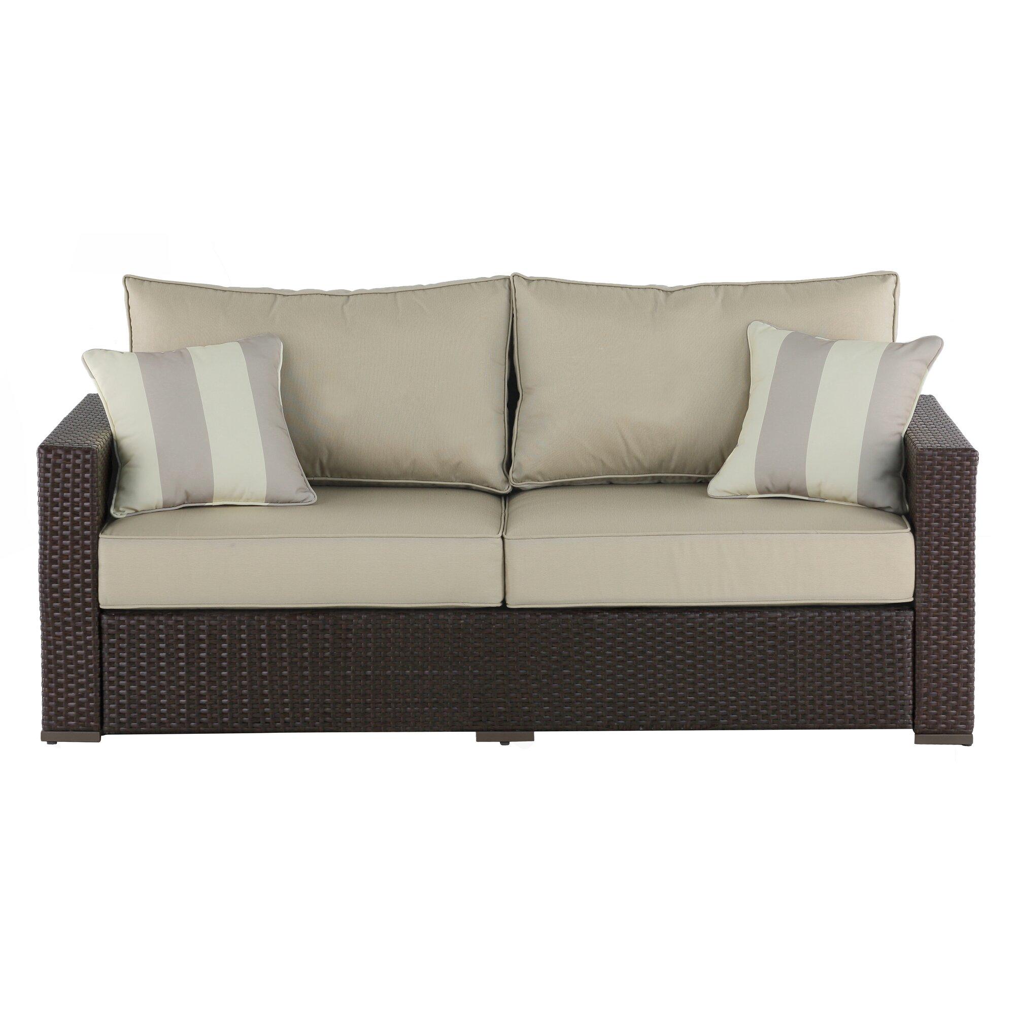 Serta at Home Laguna Outdoor Sofa with Cushions & Reviews